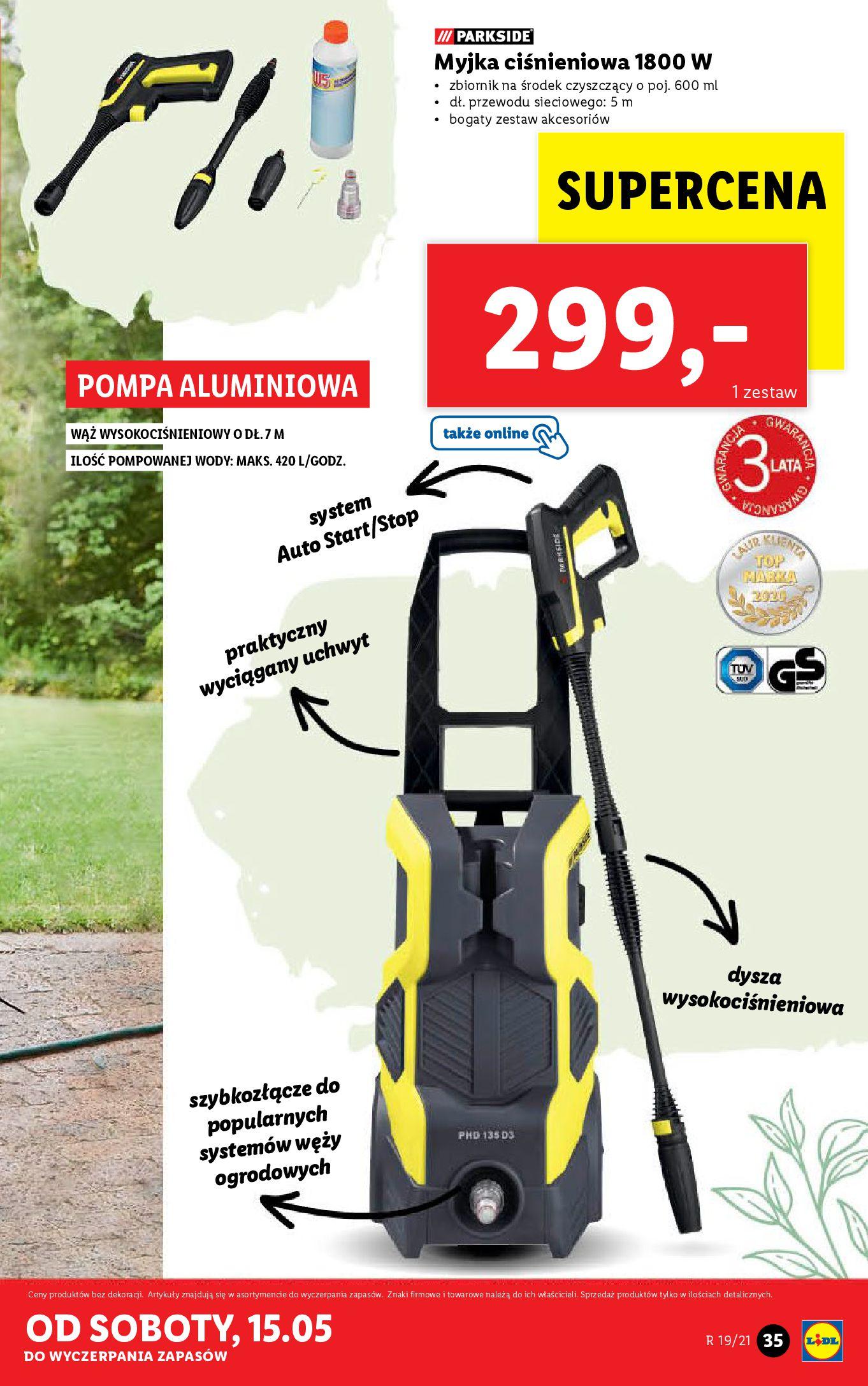 Gazetka Lidl: Katalog od 10.05 2021-05-10 page-35