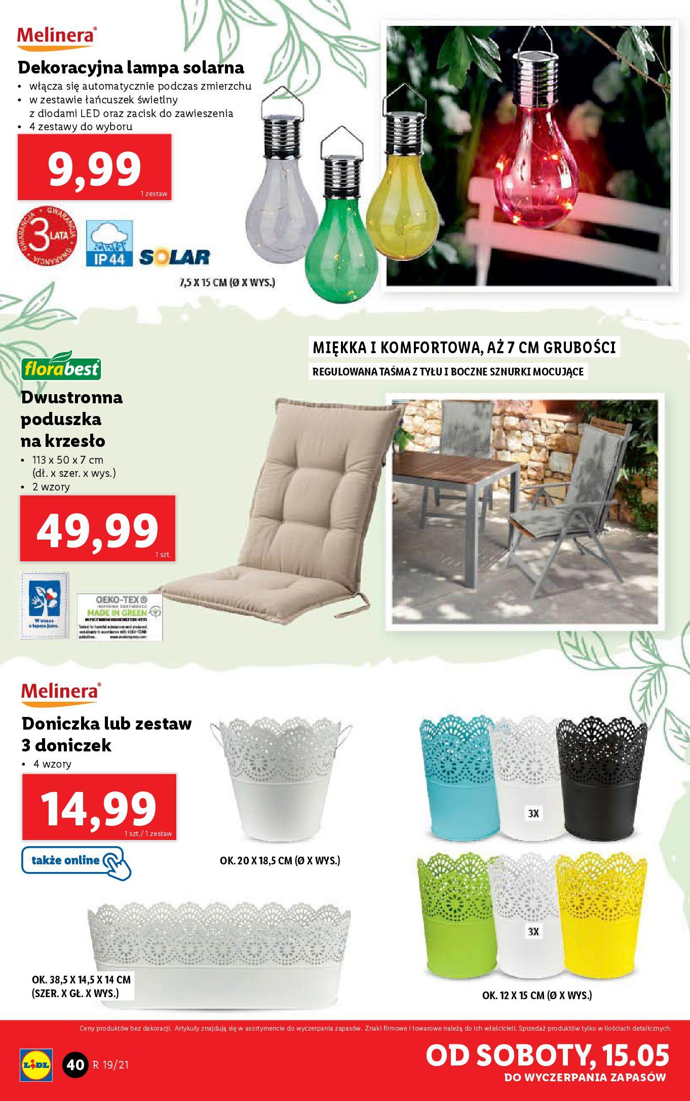 Gazetka Lidl: Katalog od 10.05 2021-05-10 page-40