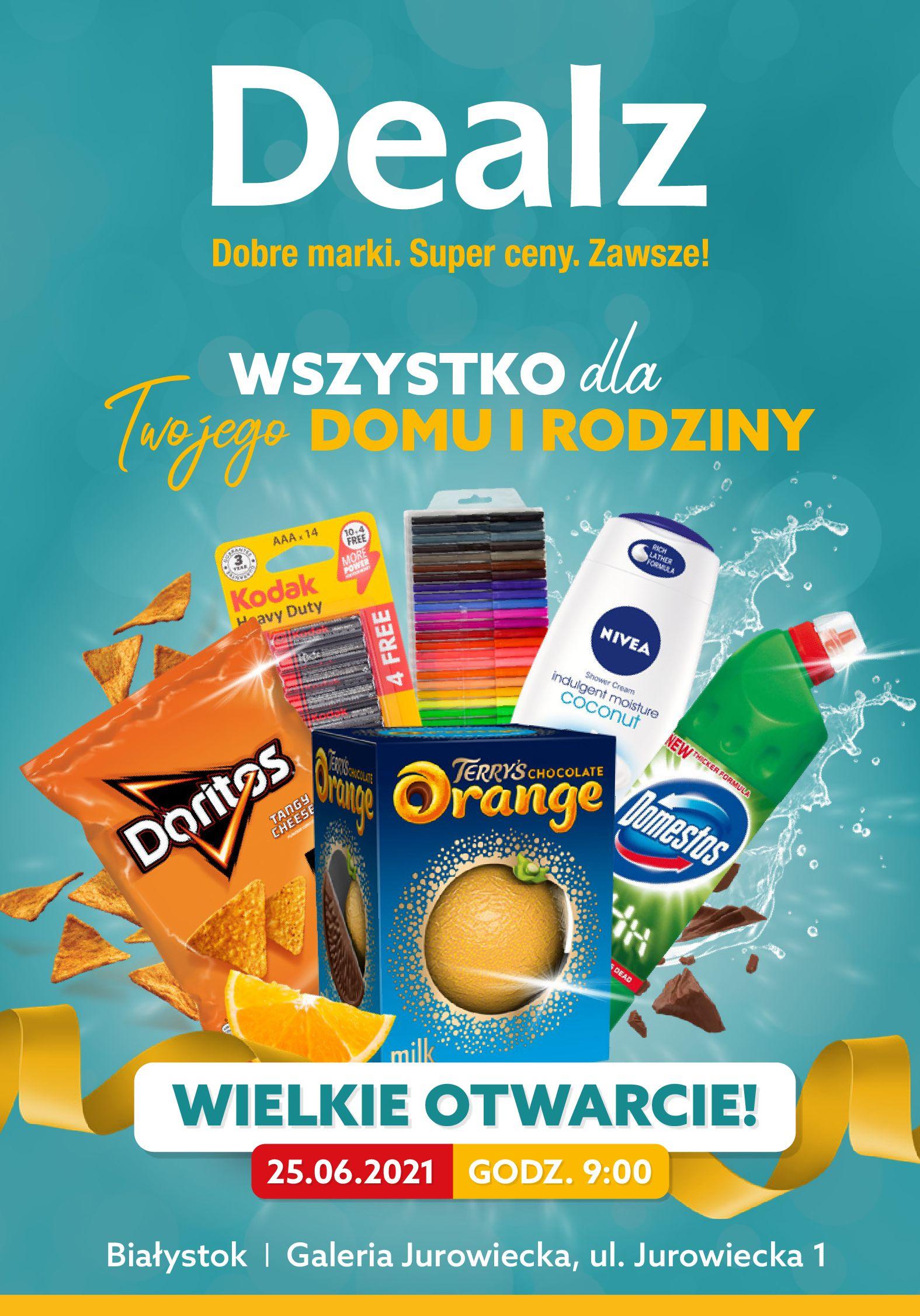 Dealz :  Gazetka Dealz - otwarcie Białystok 24.06.2021
