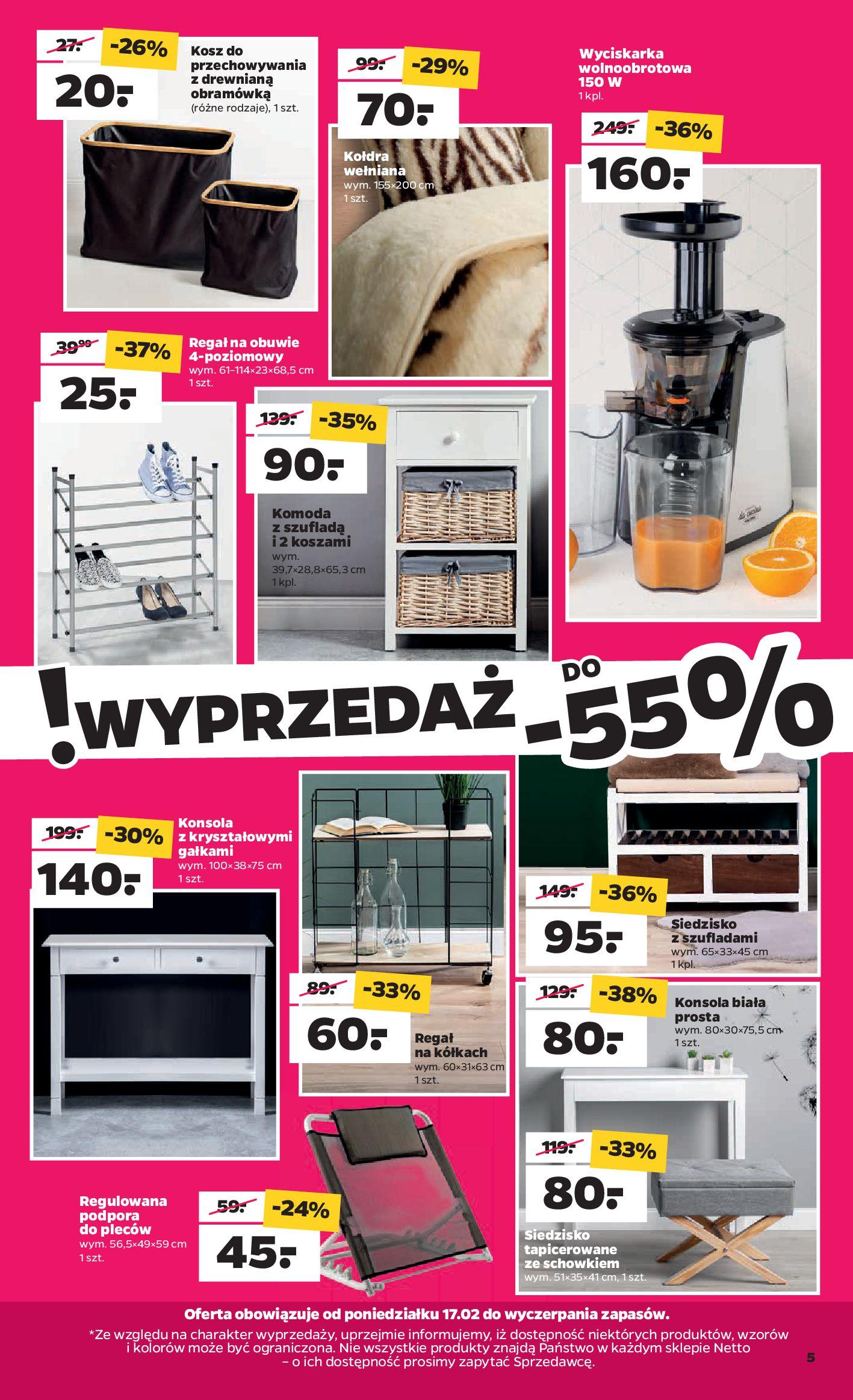Gazetka Netto - Gazetka non-food-16.02.2020-22.02.2020-page-5