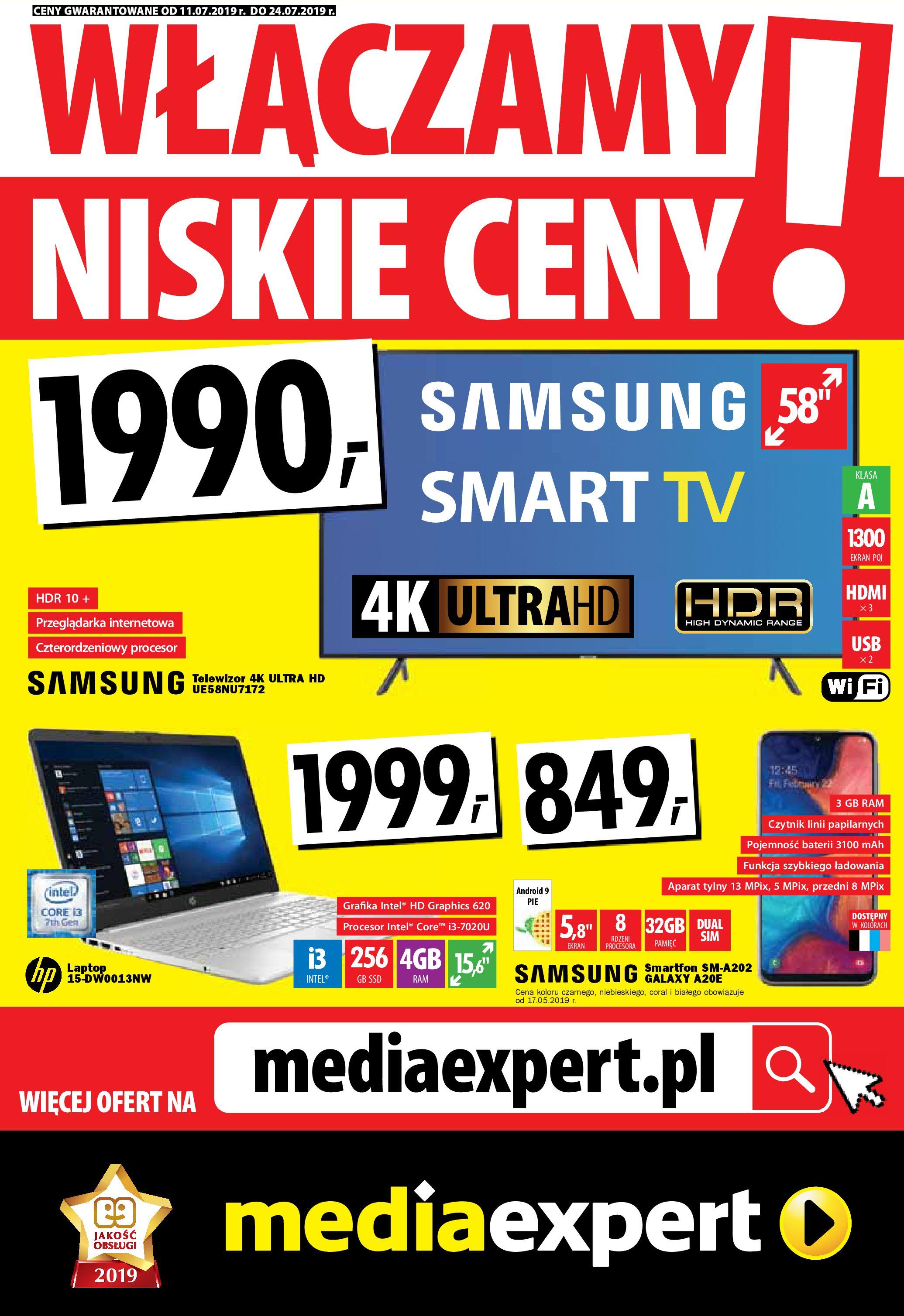 Gazetka Media Expert - Włączamy niskie ceny!-10.07.2019-24.07.2019-page-1