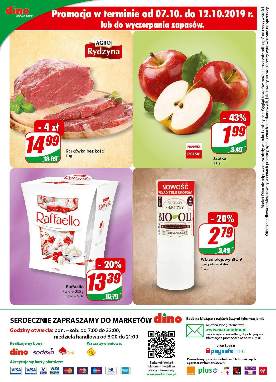 Gazetka Dino - W tym tygodniu-08.10.2019-15.10.2019-page-