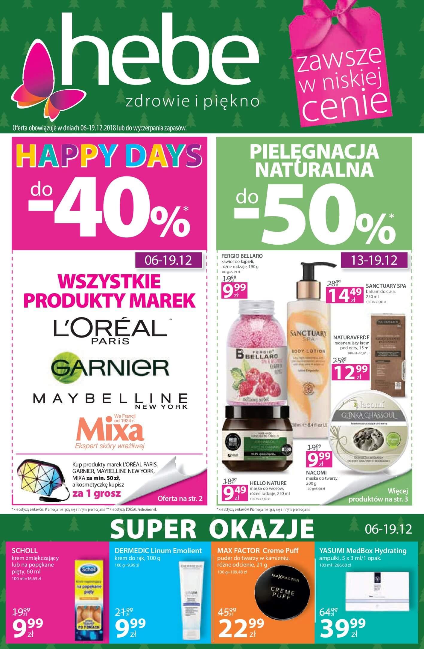 Gazetka hebe - Oferta na artykuły kosmetyczne-05.12.2018-19.12.2018-page-