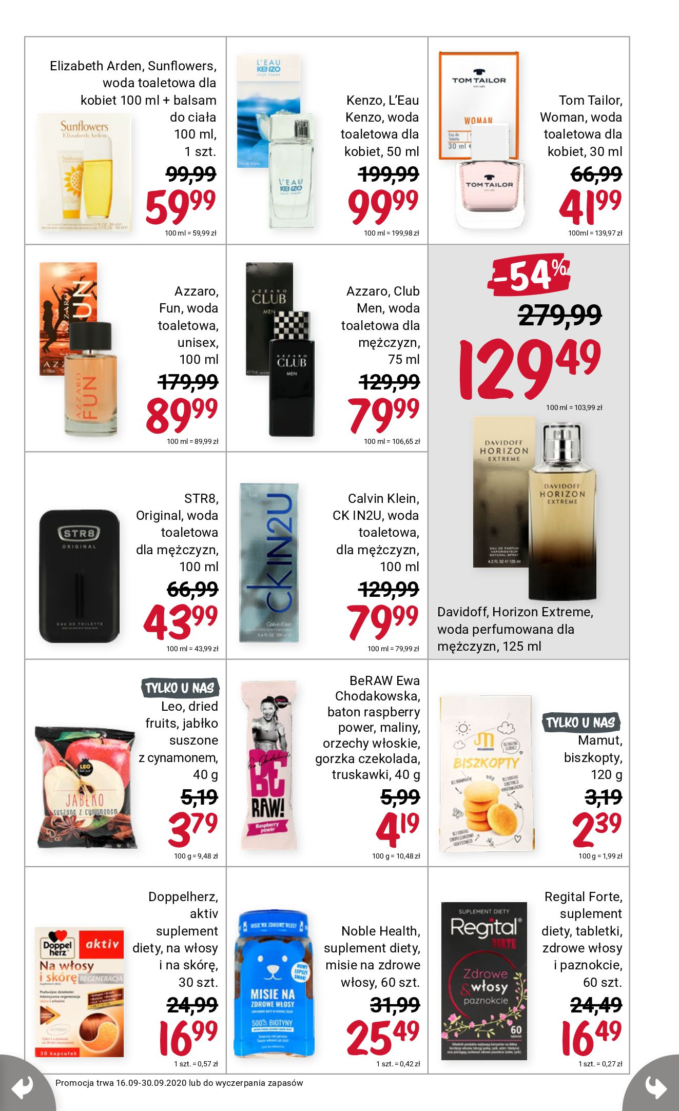 Gazetka Rossmann - Gazetka promocyjna-15.09.2020-30.09.2020-page-9