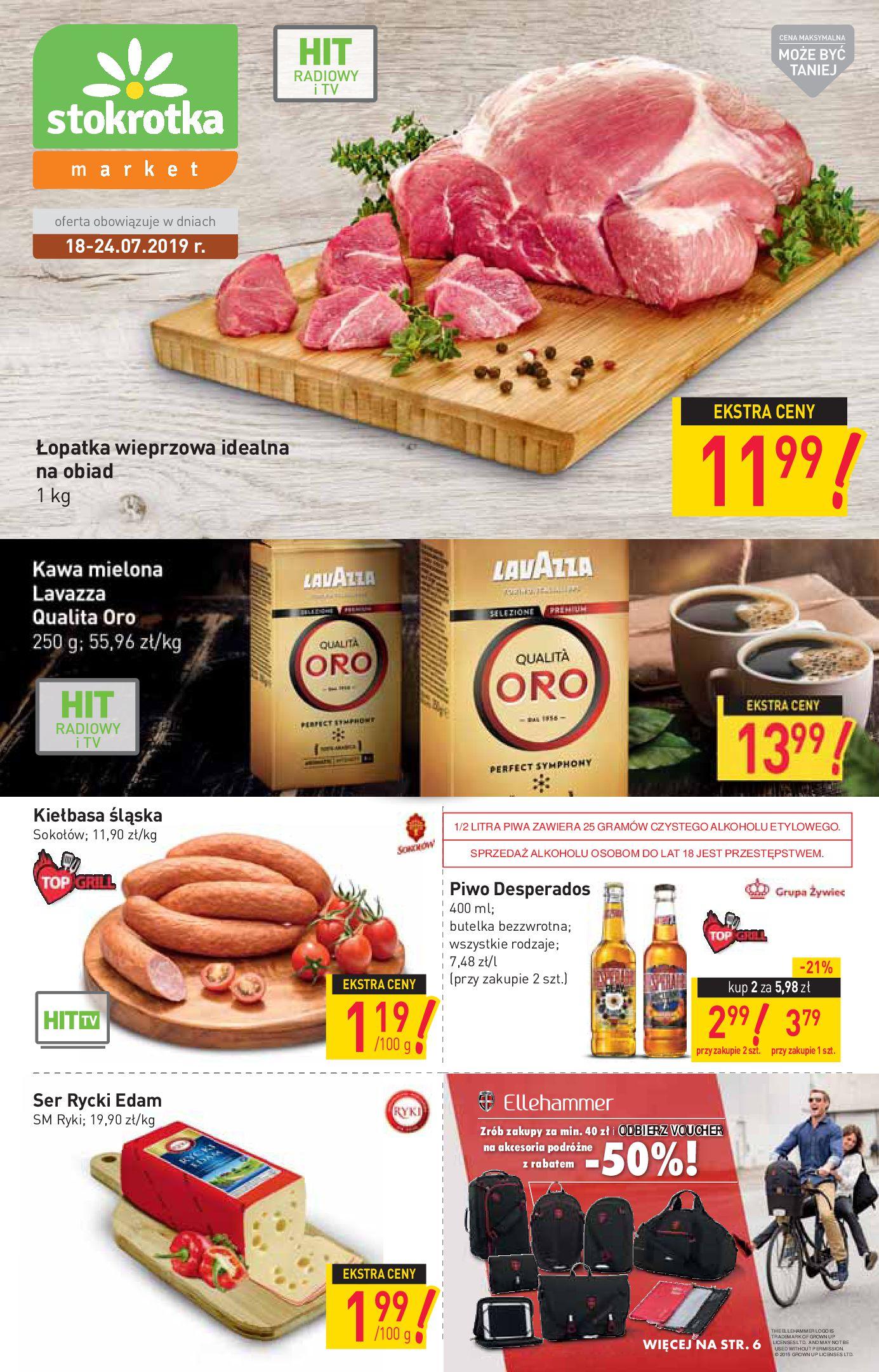 Gazetka Stokrotka Market - Oferta handlowa-17.07.2019-24.07.2019-page-1