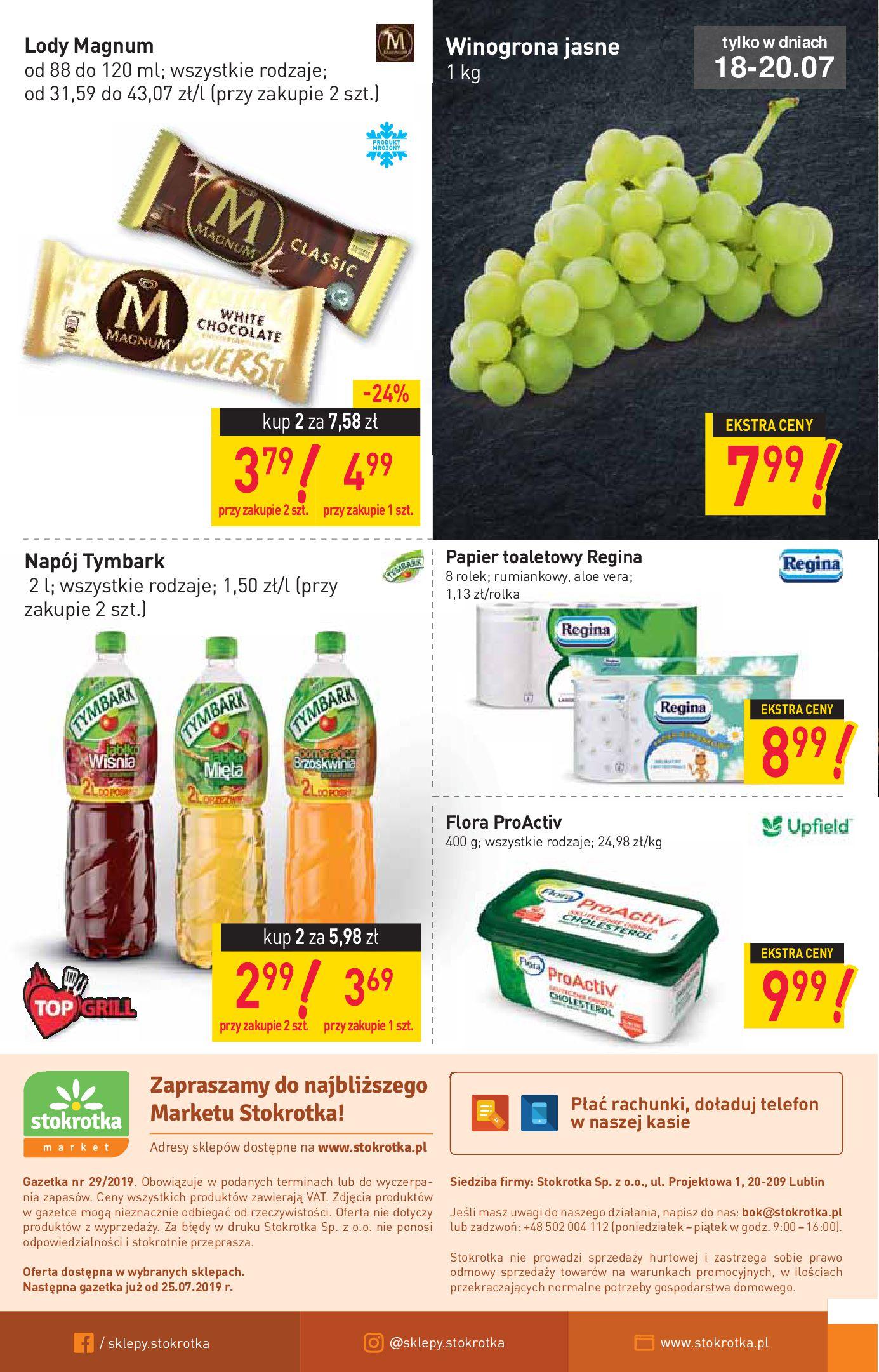 Gazetka Stokrotka Market - Oferta handlowa-17.07.2019-24.07.2019-page-12