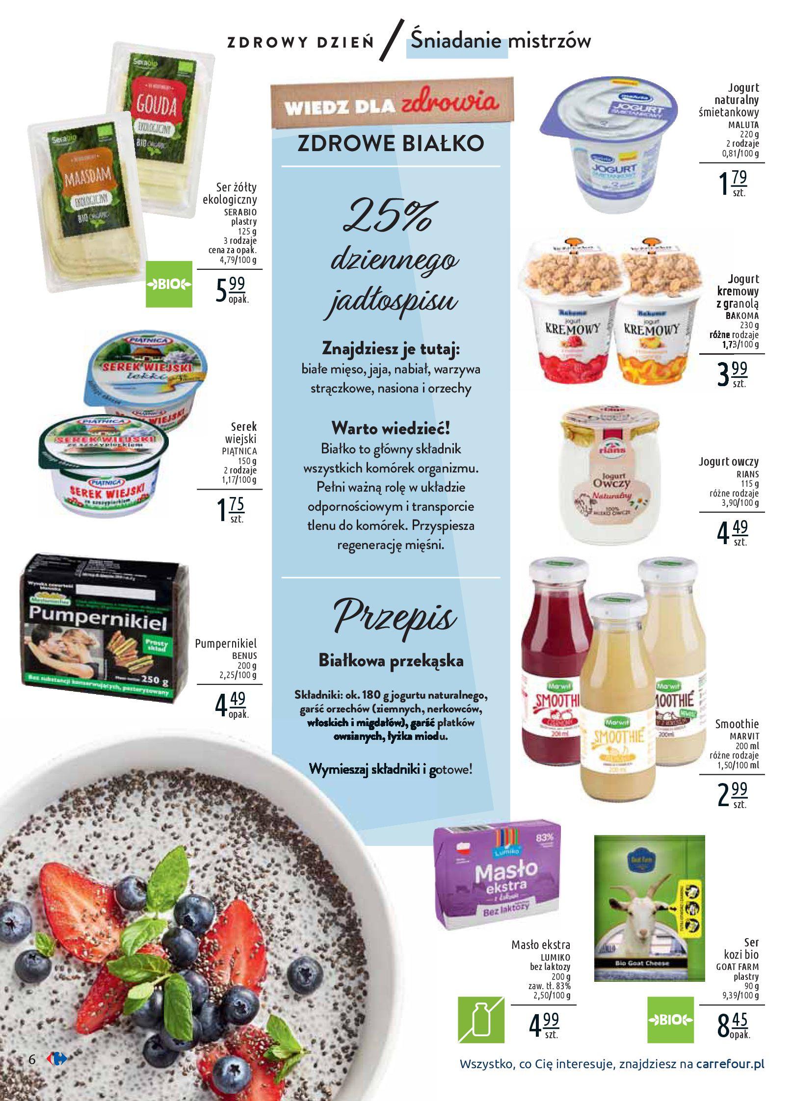 Gazetka Carrefour - Wiedz dla zdrowia-07.01.2020-18.01.2020-page-6