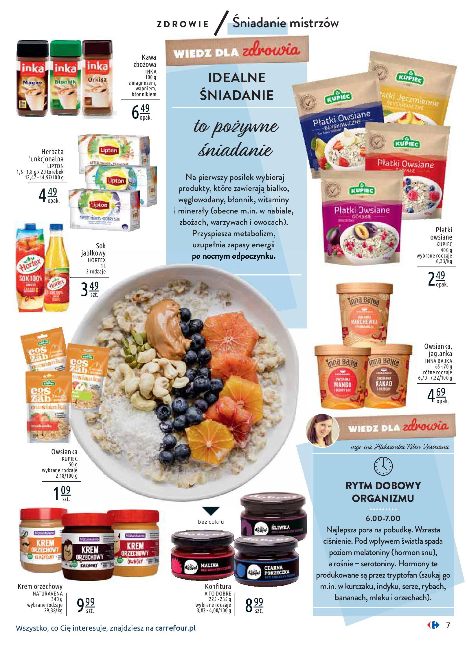 Gazetka Carrefour - Wiedz dla zdrowia-07.01.2020-18.01.2020-page-7