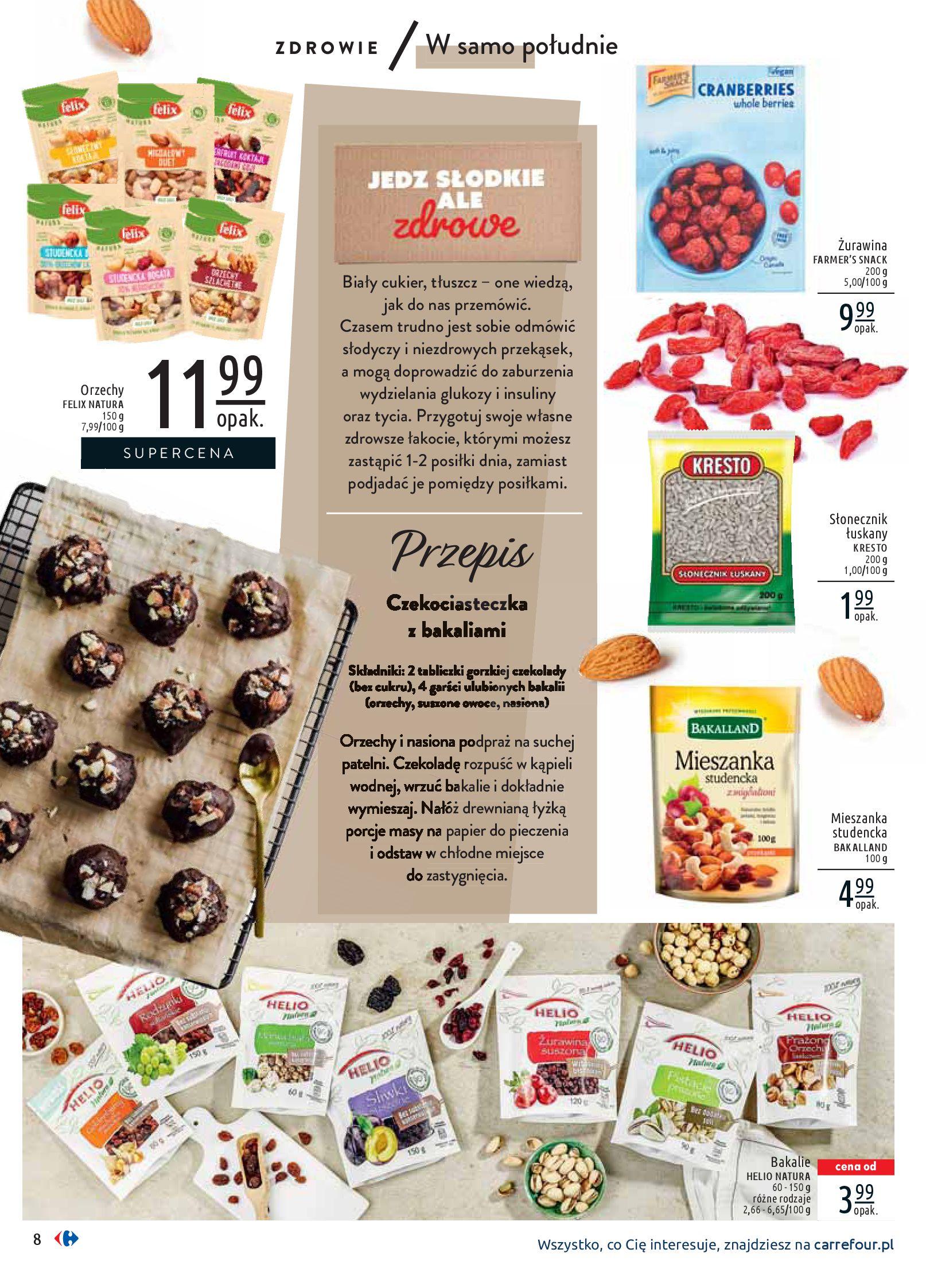 Gazetka Carrefour - Wiedz dla zdrowia-07.01.2020-18.01.2020-page-8