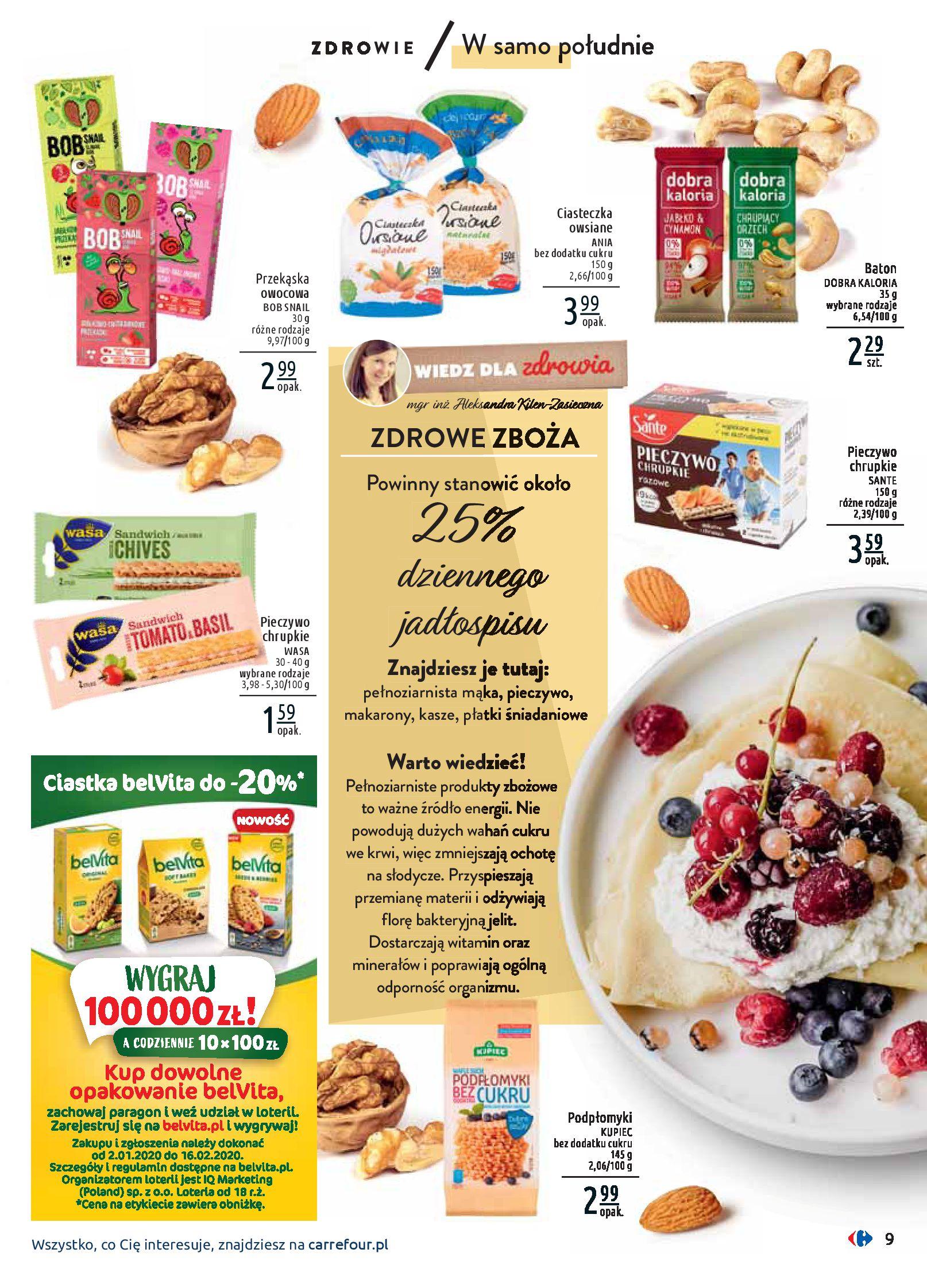 Gazetka Carrefour - Wiedz dla zdrowia-07.01.2020-18.01.2020-page-9