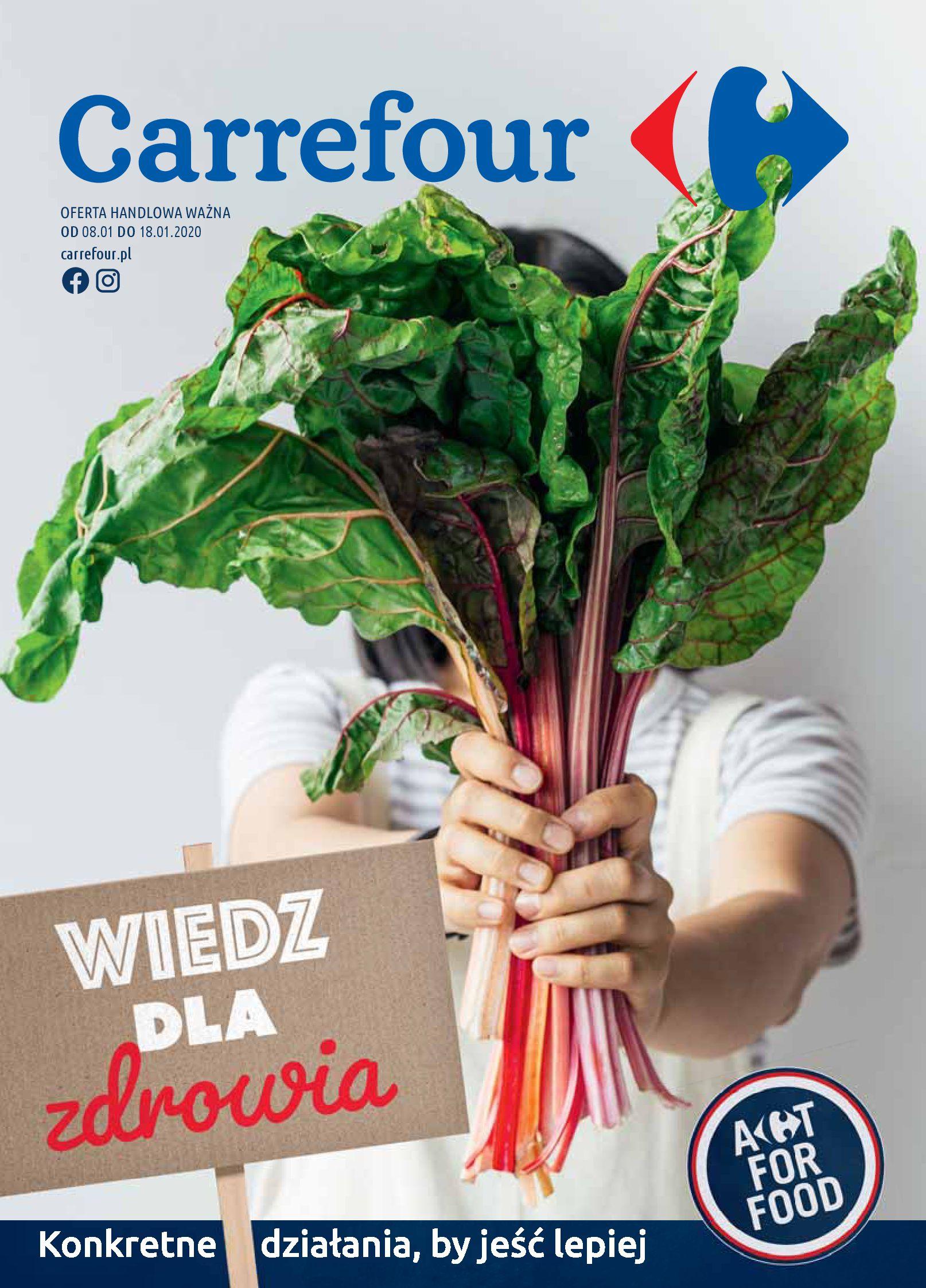 Gazetka Carrefour - Wiedz dla zdrowia-07.01.2020-18.01.2020-page-1