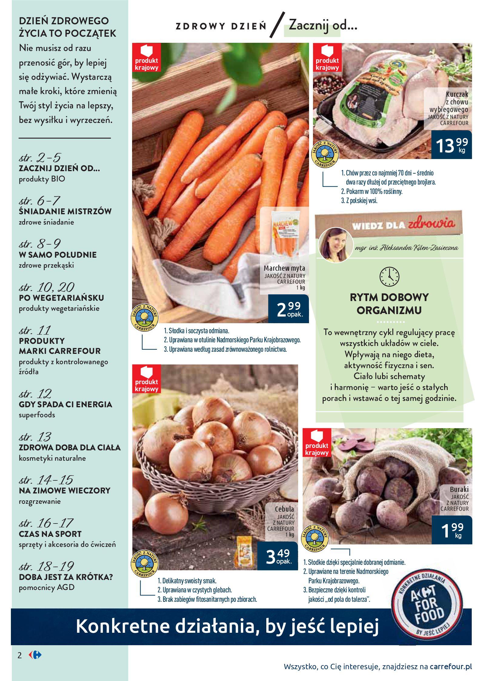 Gazetka Carrefour - Wiedz dla zdrowia-07.01.2020-18.01.2020-page-2