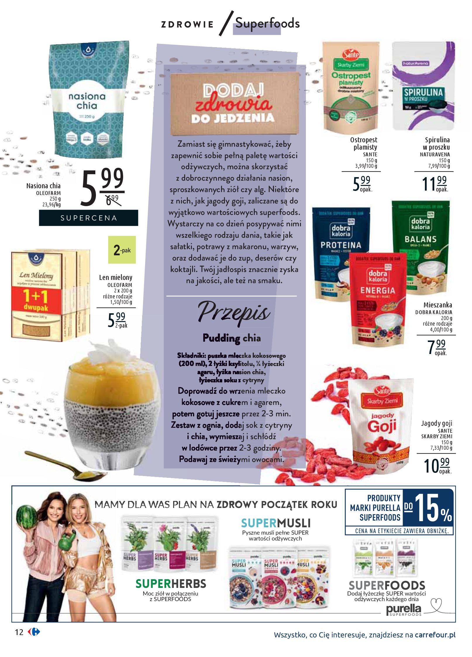 Gazetka Carrefour - Wiedz dla zdrowia-07.01.2020-18.01.2020-page-12