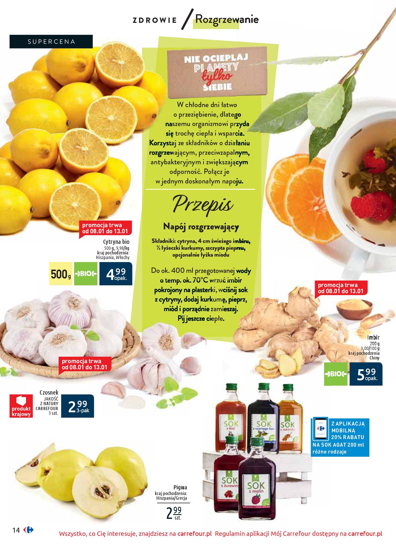 Gazetka Carrefour - Wiedz dla zdrowia-07.01.2020-18.01.2020-page-14