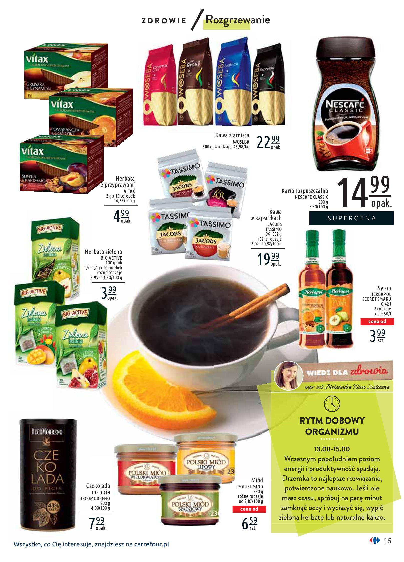 Gazetka Carrefour - Wiedz dla zdrowia-07.01.2020-18.01.2020-page-15