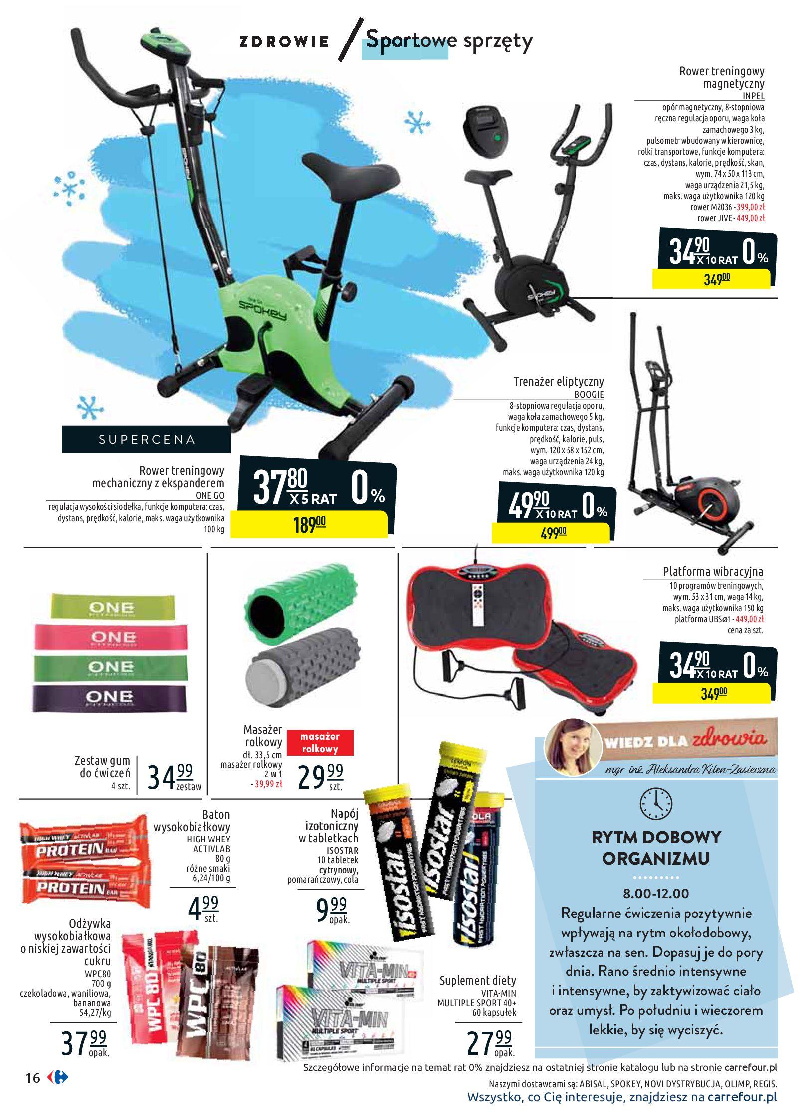 Gazetka Carrefour - Wiedz dla zdrowia-07.01.2020-18.01.2020-page-16