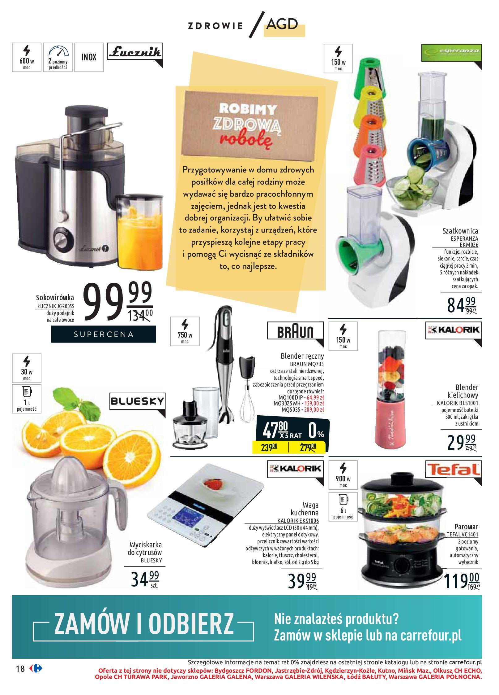 Gazetka Carrefour - Wiedz dla zdrowia-07.01.2020-18.01.2020-page-18