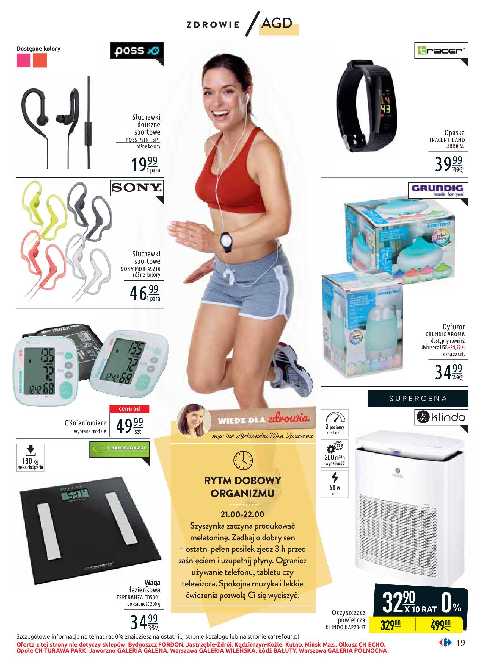 Gazetka Carrefour - Wiedz dla zdrowia-07.01.2020-18.01.2020-page-19