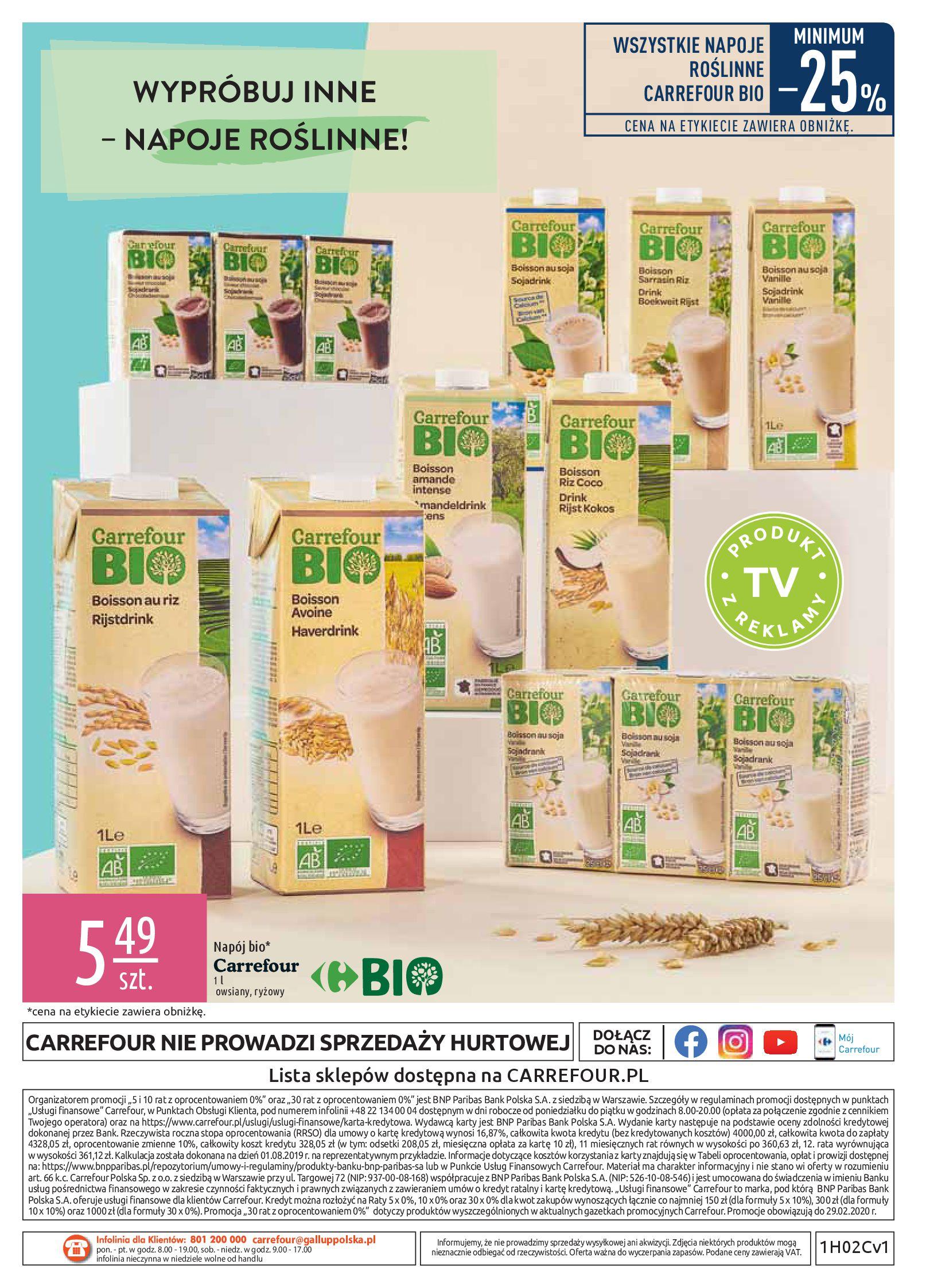 Gazetka Carrefour - Wiedz dla zdrowia-07.01.2020-18.01.2020-page-20