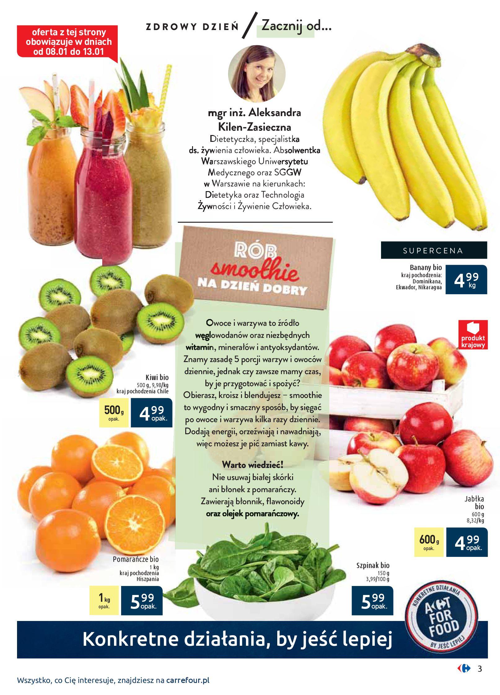 Gazetka Carrefour - Wiedz dla zdrowia-07.01.2020-18.01.2020-page-3