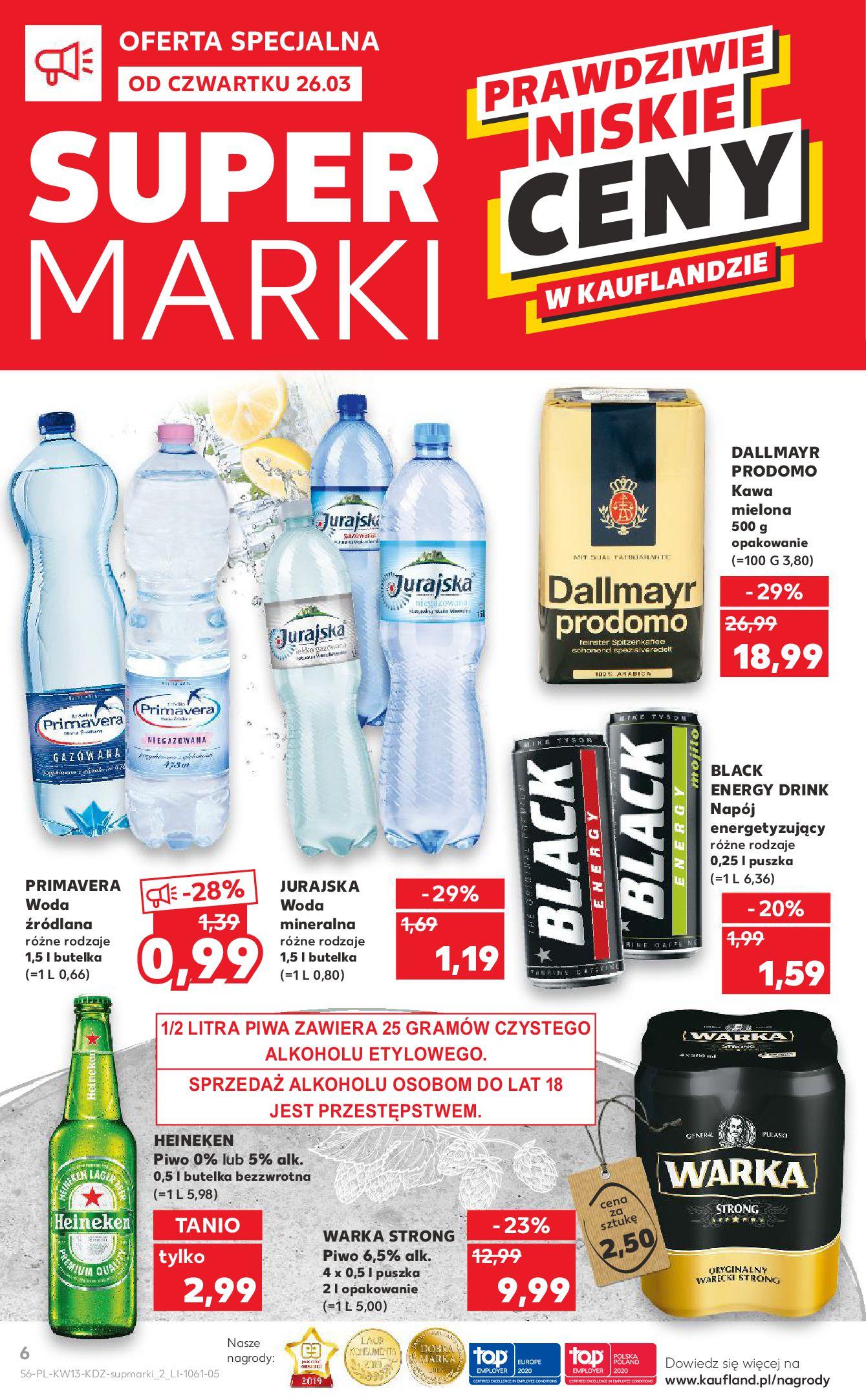 Gazetka Kaufland - Na dobry tydzień-25.03.2020-01.04.2020-page-6