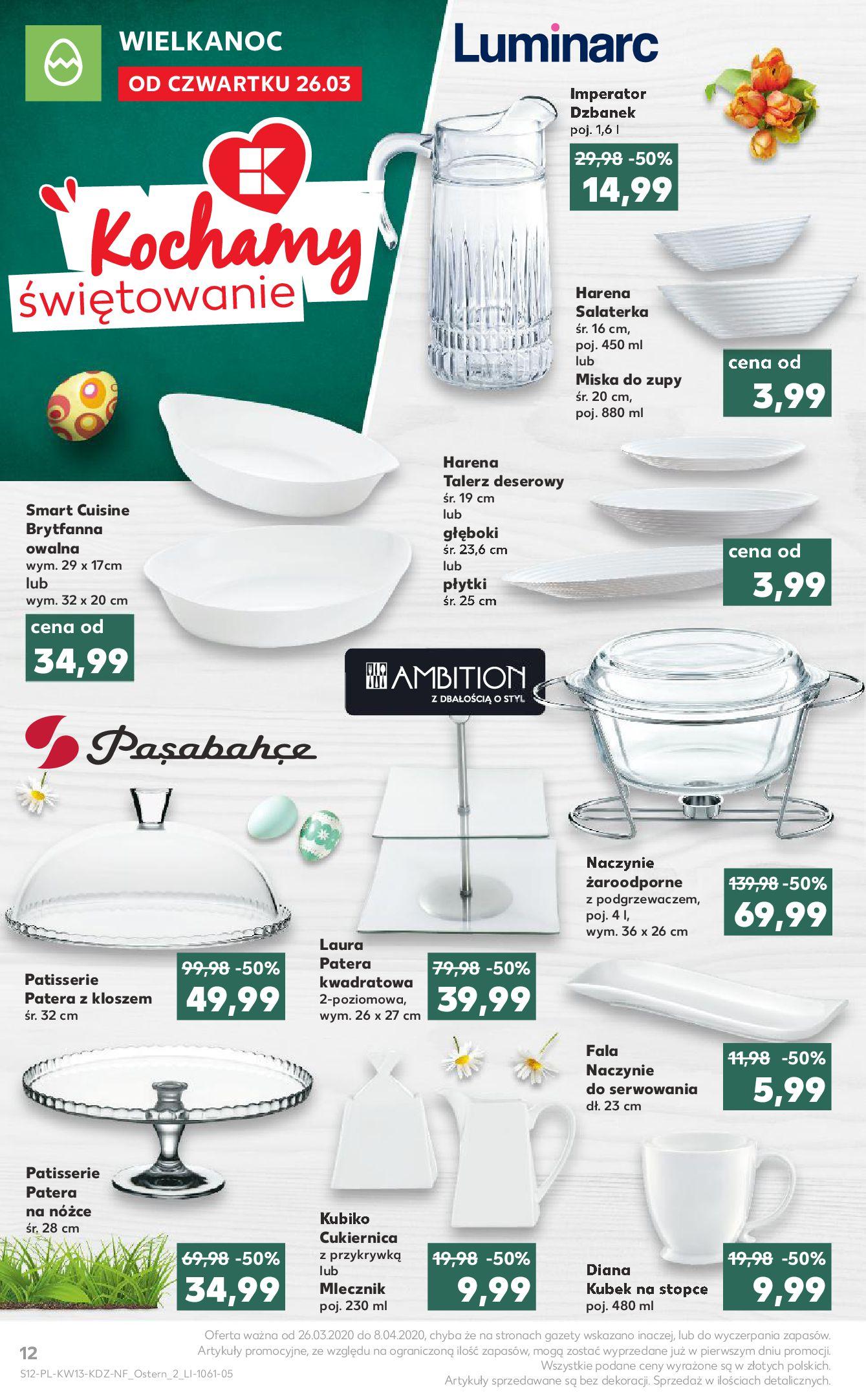 Gazetka Kaufland - Na dobry tydzień-25.03.2020-01.04.2020-page-12