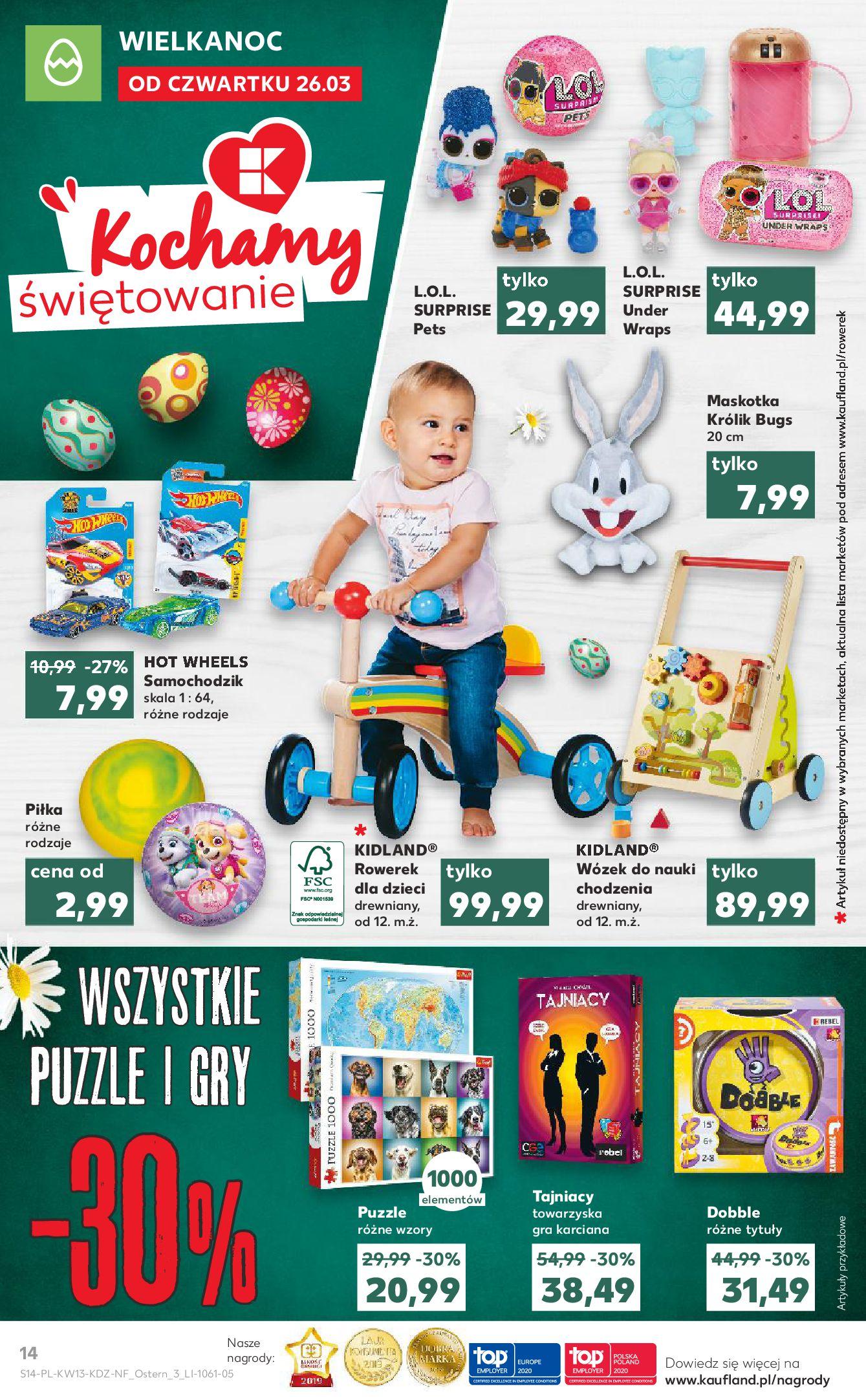 Gazetka Kaufland - Na dobry tydzień-25.03.2020-01.04.2020-page-14