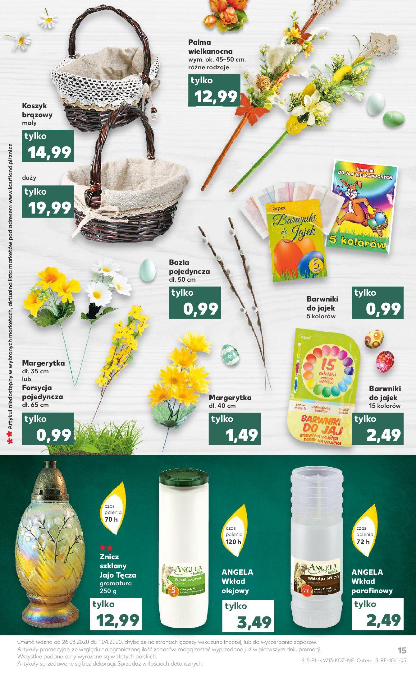 Gazetka Kaufland - Na dobry tydzień-25.03.2020-01.04.2020-page-15