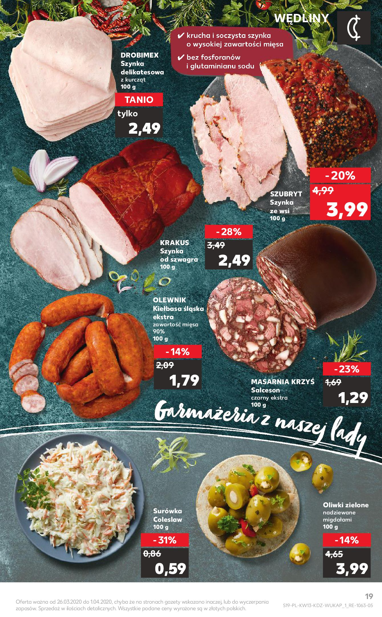Gazetka Kaufland - Na dobry tydzień-25.03.2020-01.04.2020-page-19