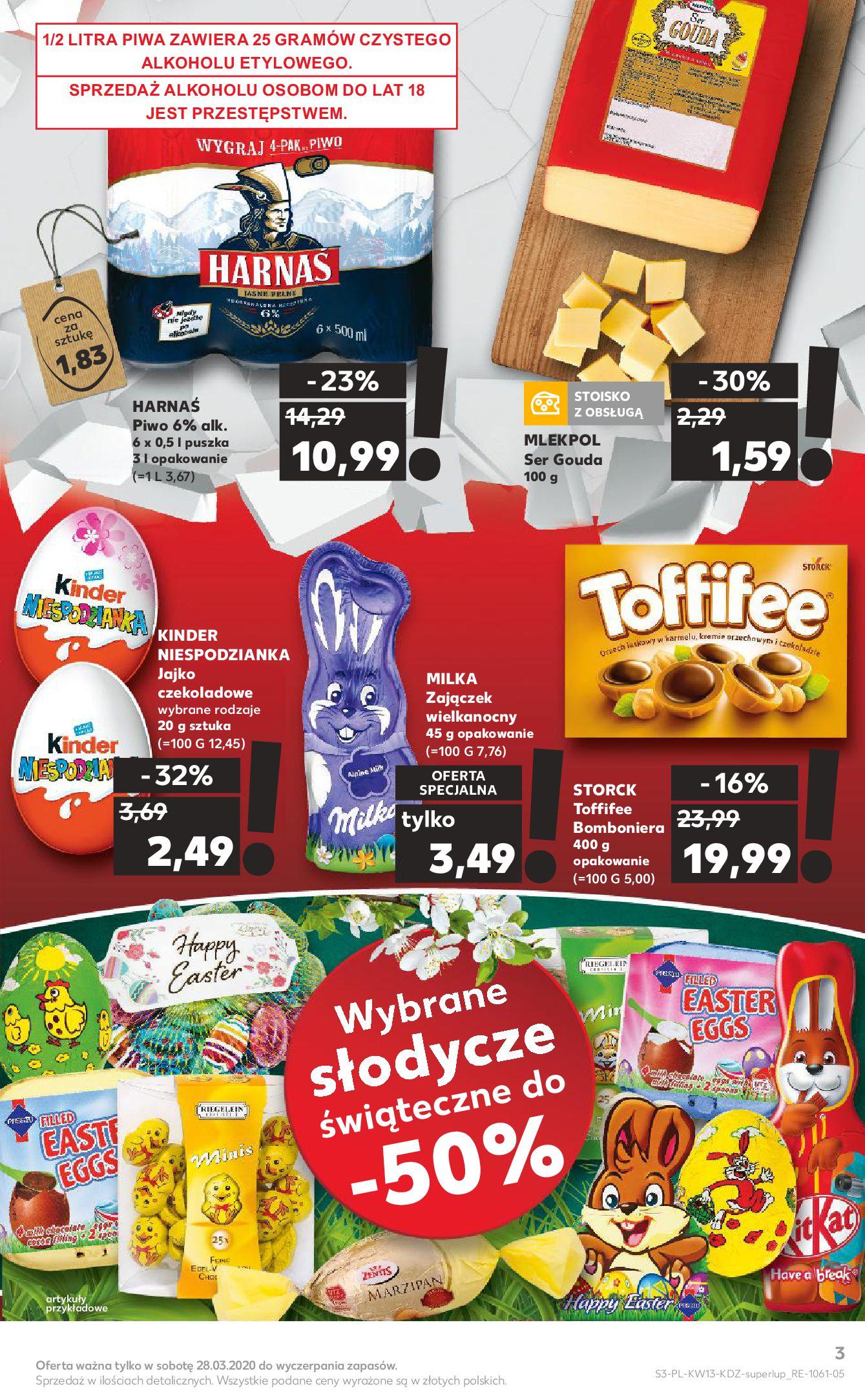 Gazetka Kaufland - Na dobry tydzień-25.03.2020-01.04.2020-page-3