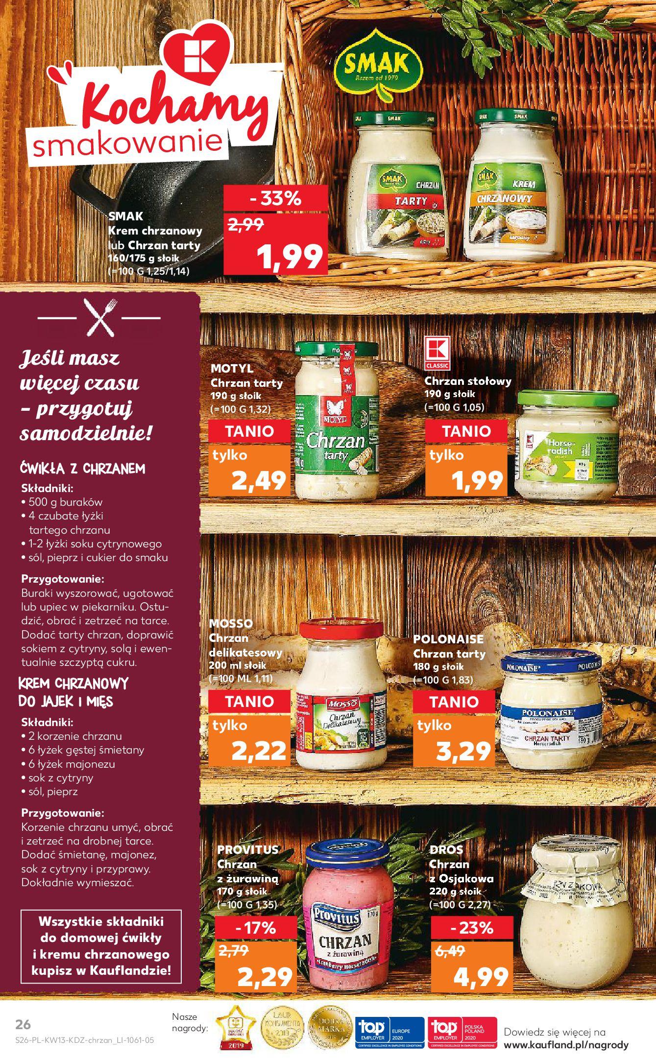 Gazetka Kaufland - Na dobry tydzień-25.03.2020-01.04.2020-page-26