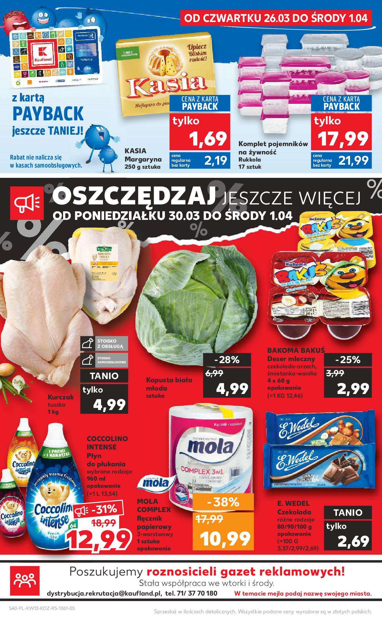 Gazetka Kaufland - Na dobry tydzień-25.03.2020-01.04.2020-page-40