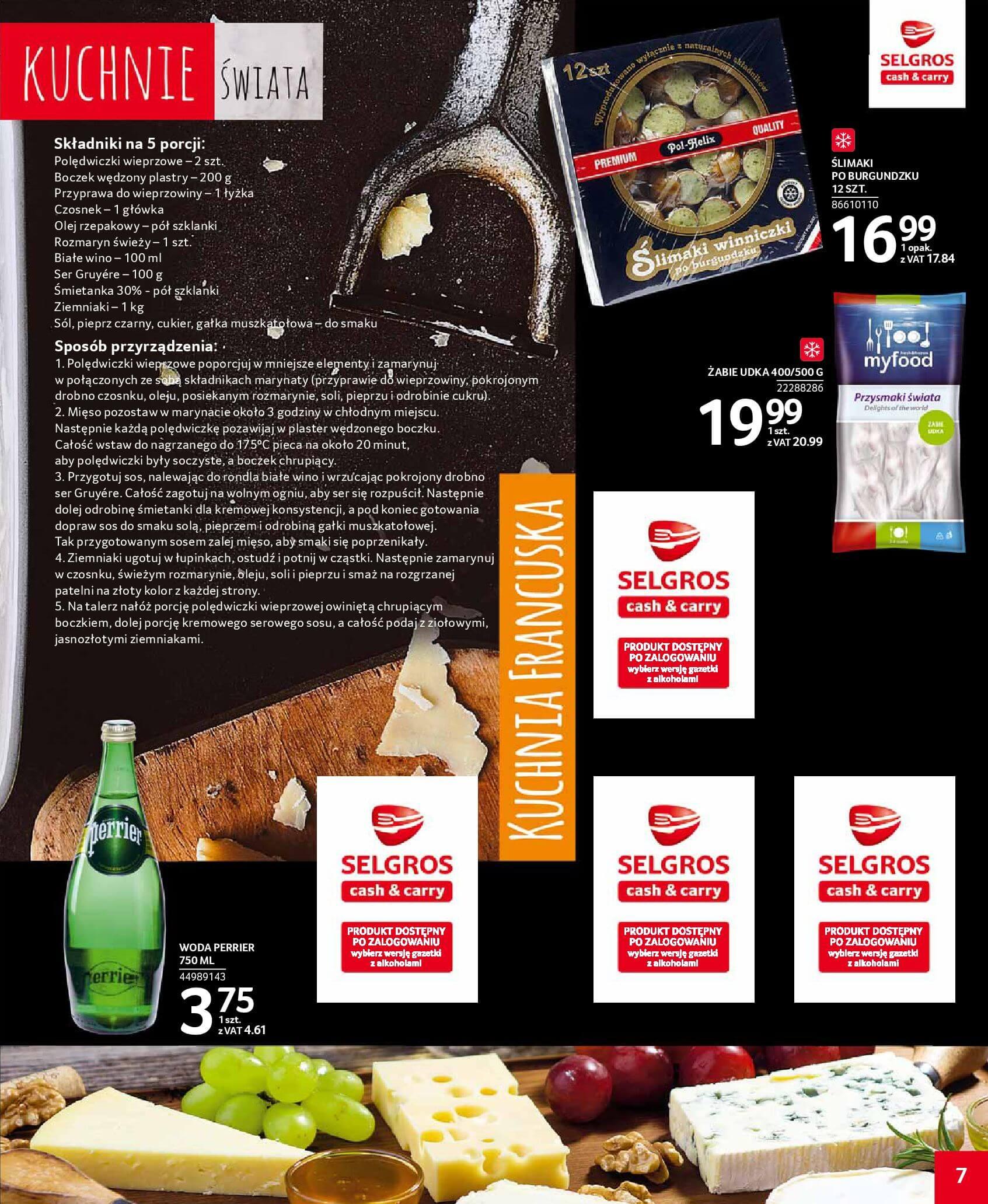 Gazetka Selgros - Kuchnie świata-16.01.2019-30.01.2019-page-