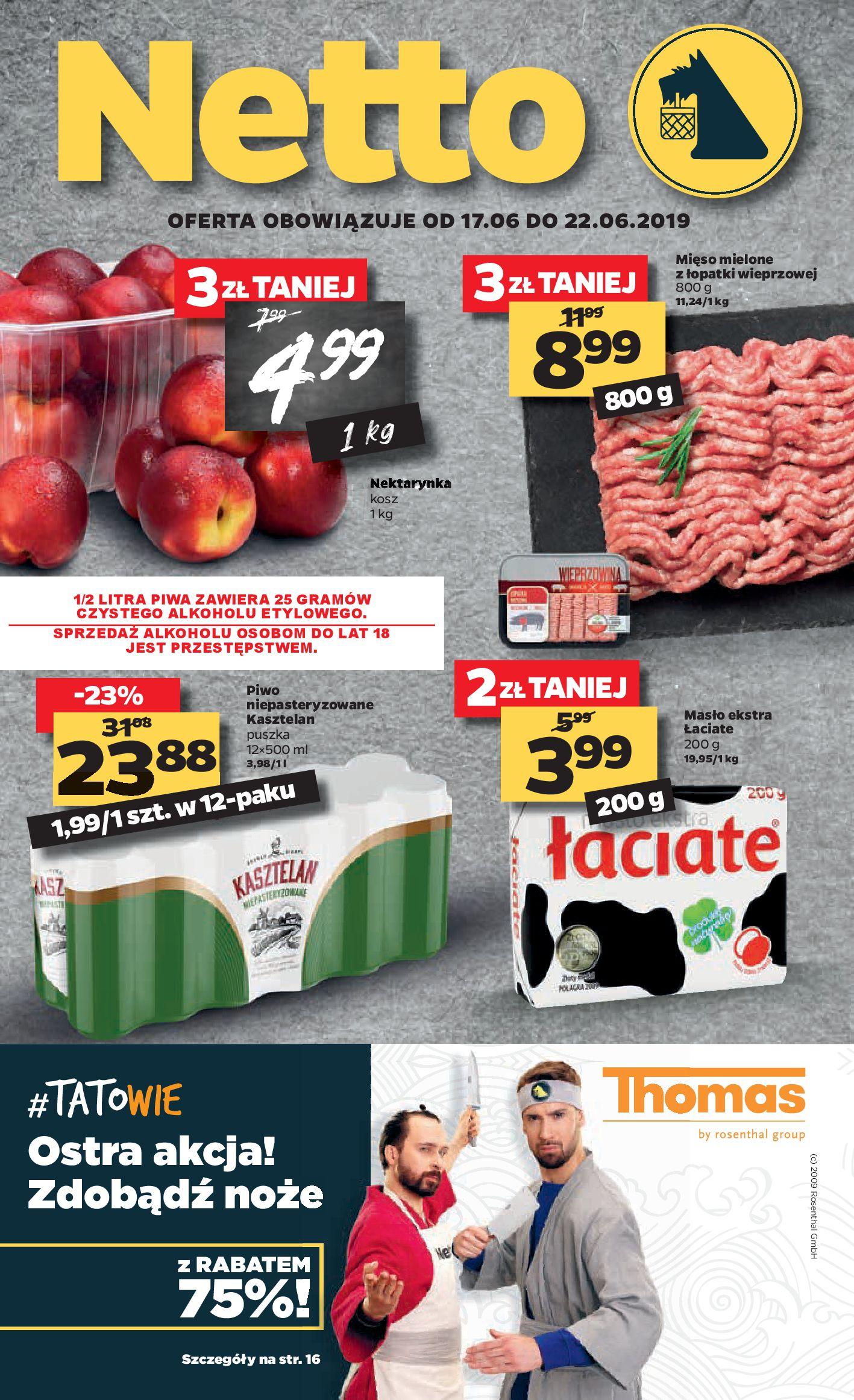 Gazetka Netto - Gazetka spożywcza-16.06.2019-22.06.2019-page-