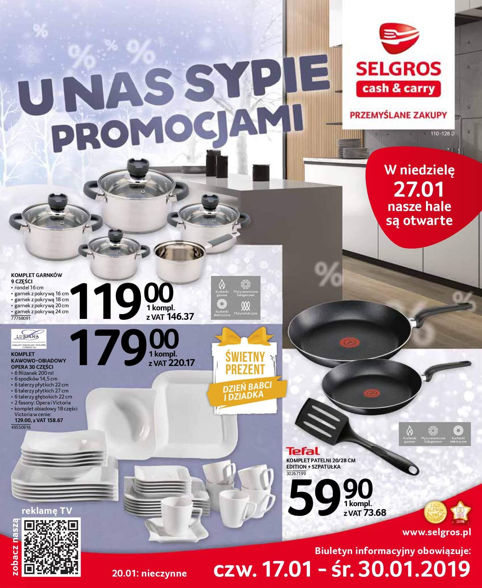 Gazetka Selgros - U nas sypie promocjami-16.01.2019-30.01.2019-page-