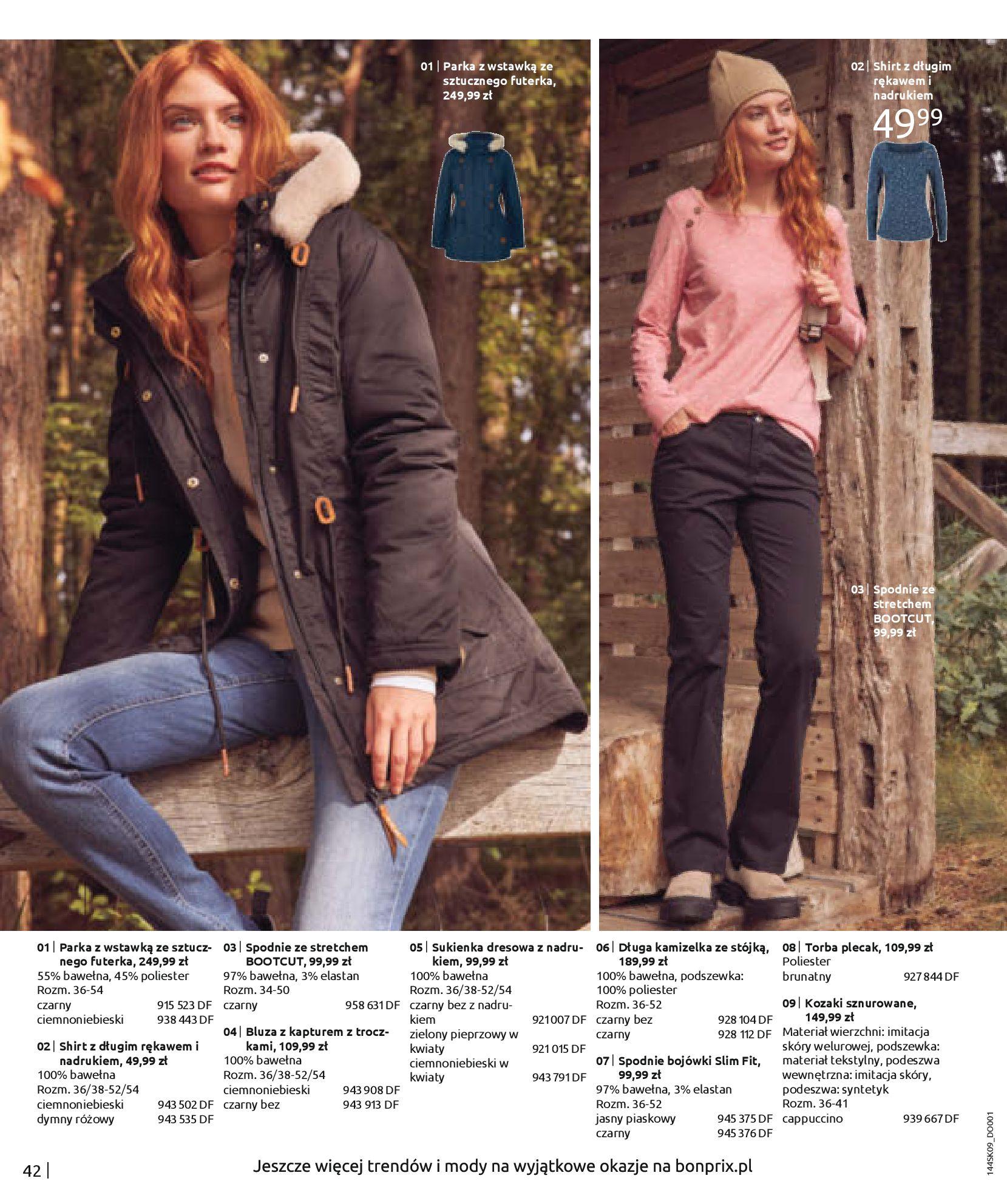 Gazetka Bonprix: Katalog Bonprix - Wolne chwile w wielkim stylu 2021-09-09 page-44
