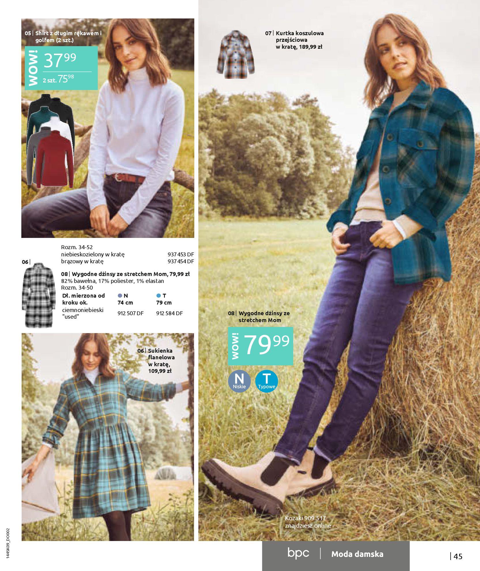 Gazetka Bonprix: Katalog Bonprix - Wolne chwile w wielkim stylu 2021-09-09 page-47