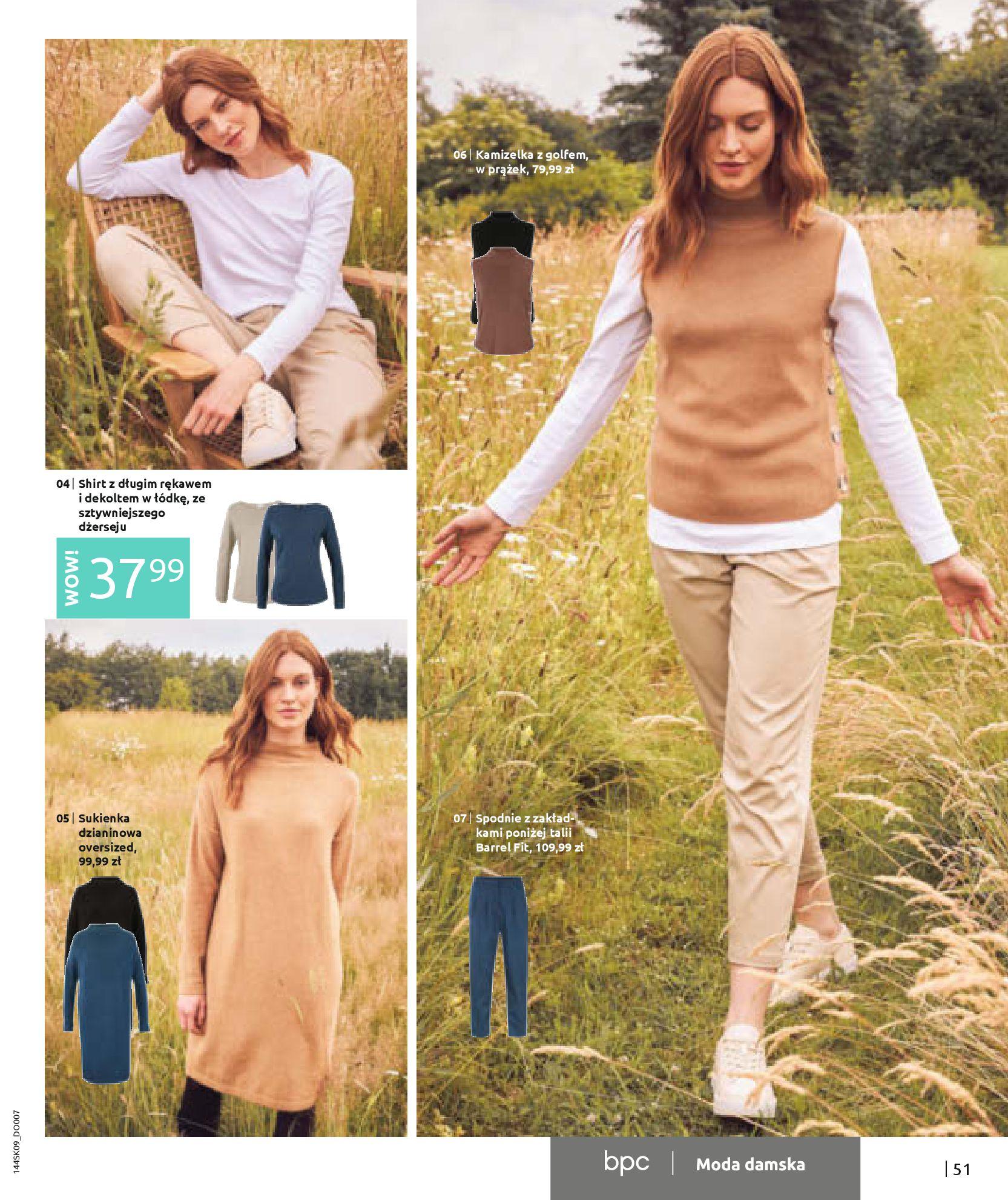 Gazetka Bonprix: Katalog Bonprix - Wolne chwile w wielkim stylu 2021-09-09 page-53