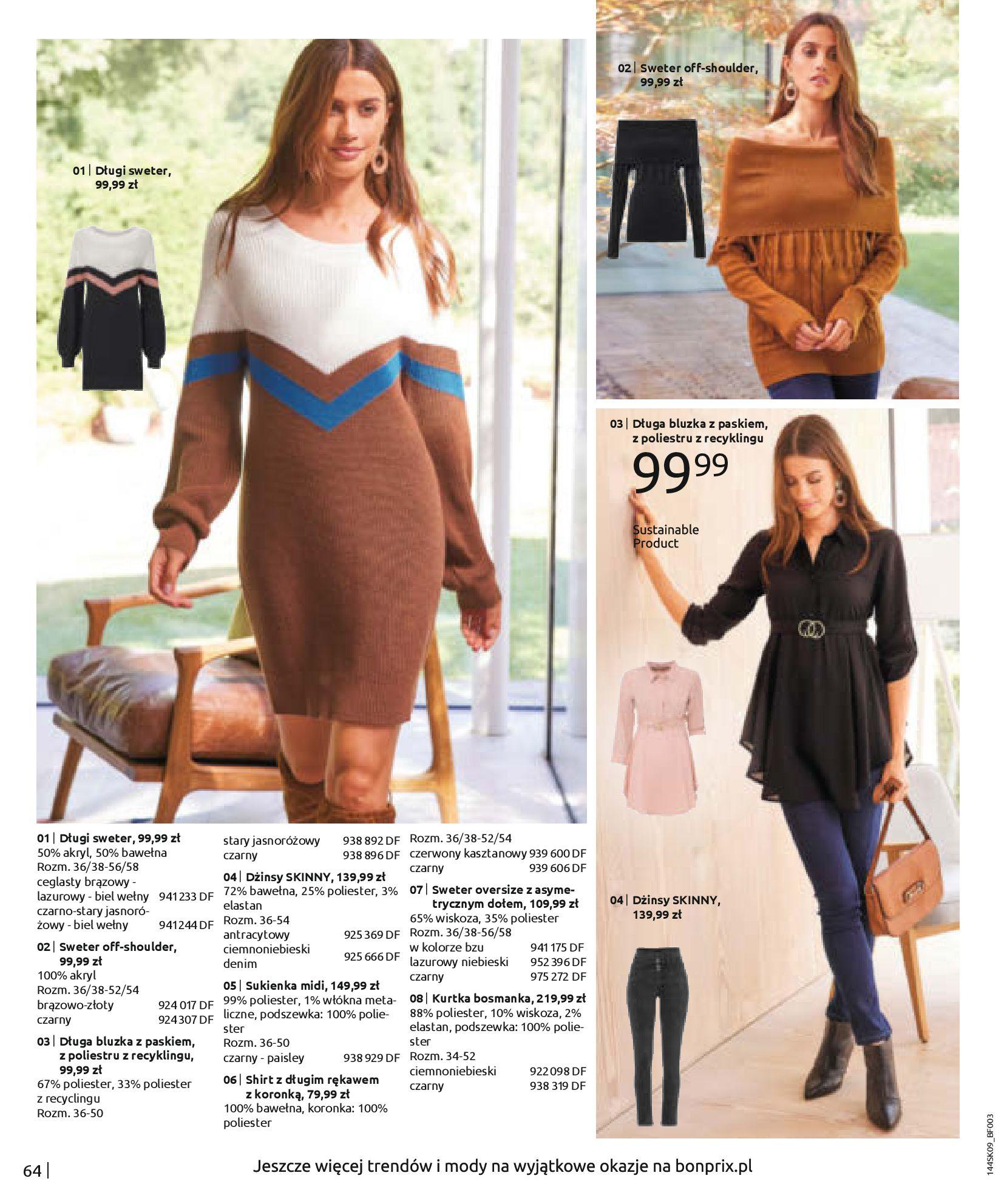 Gazetka Bonprix: Katalog Bonprix - Wolne chwile w wielkim stylu 2021-09-09 page-66