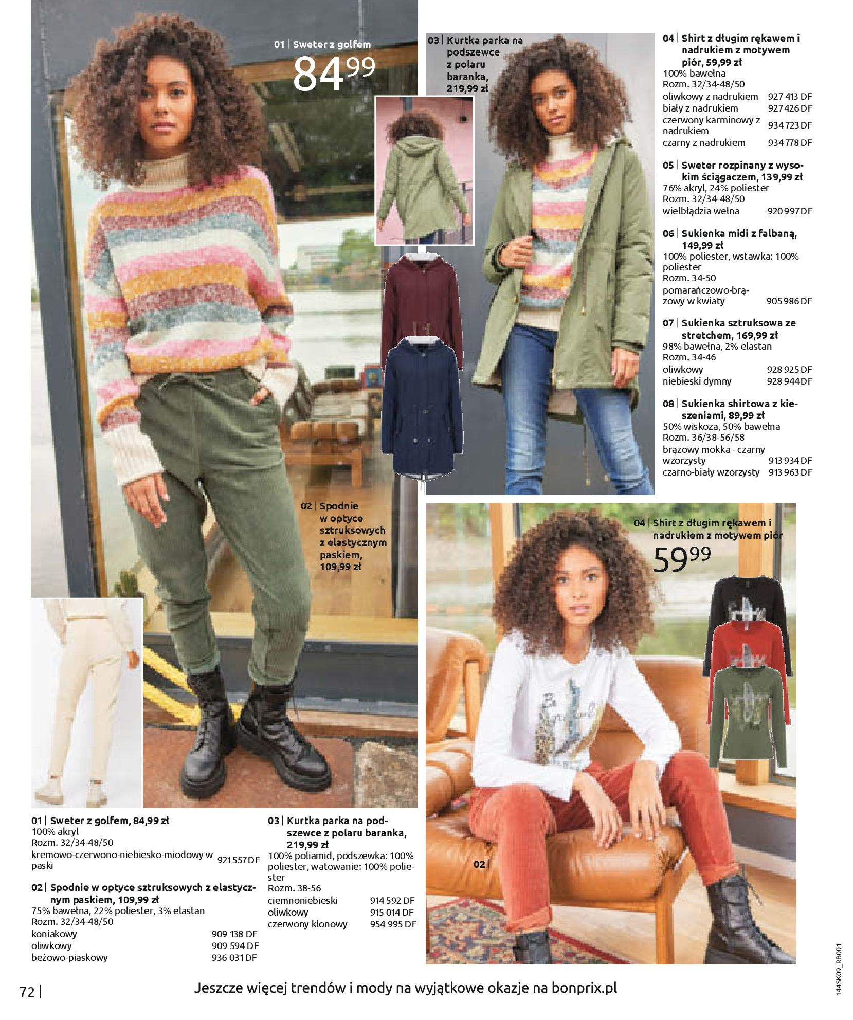 Gazetka Bonprix: Katalog Bonprix - Wolne chwile w wielkim stylu 2021-09-09 page-74