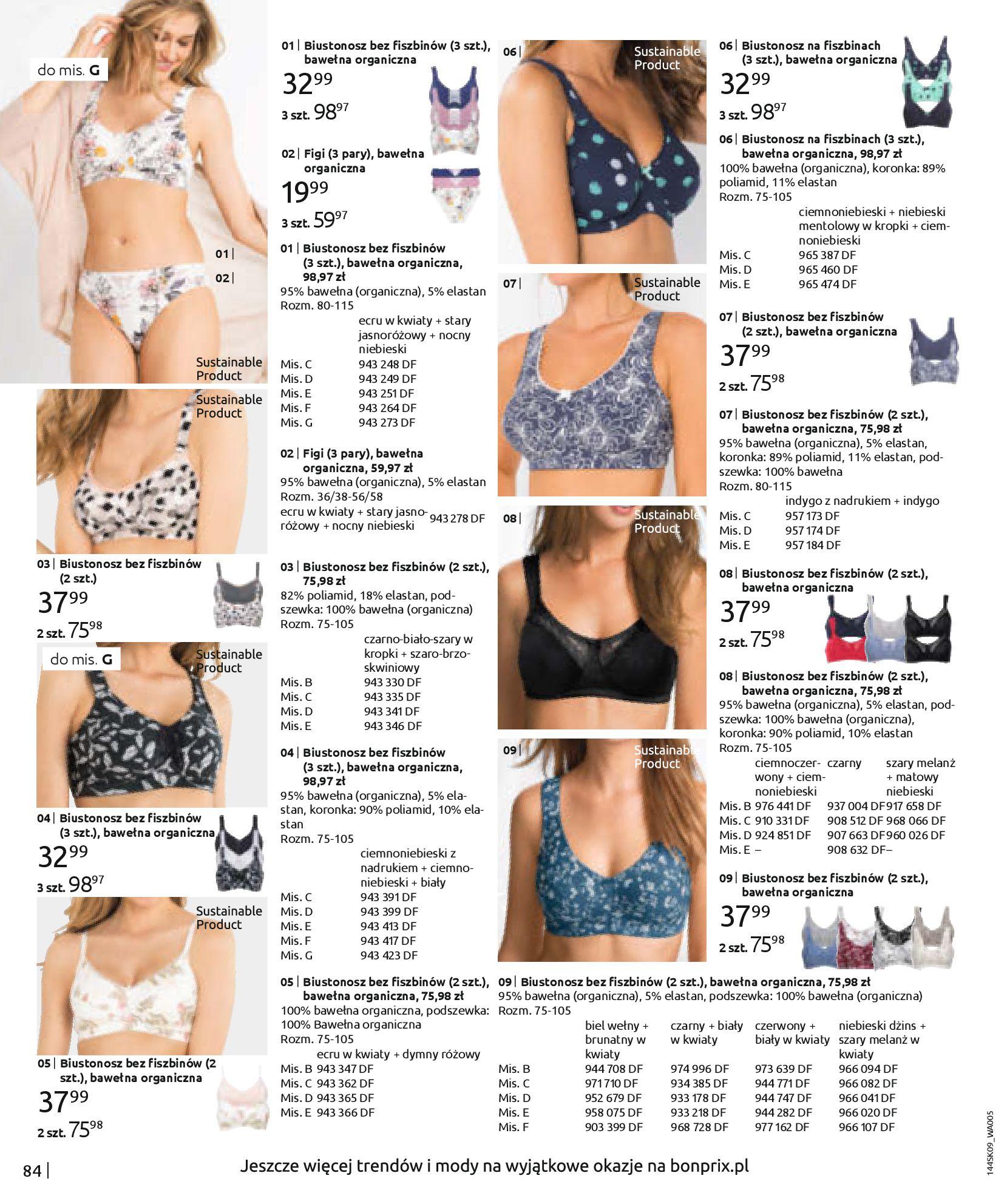 Gazetka Bonprix: Katalog Bonprix - Wolne chwile w wielkim stylu 2021-09-09 page-86