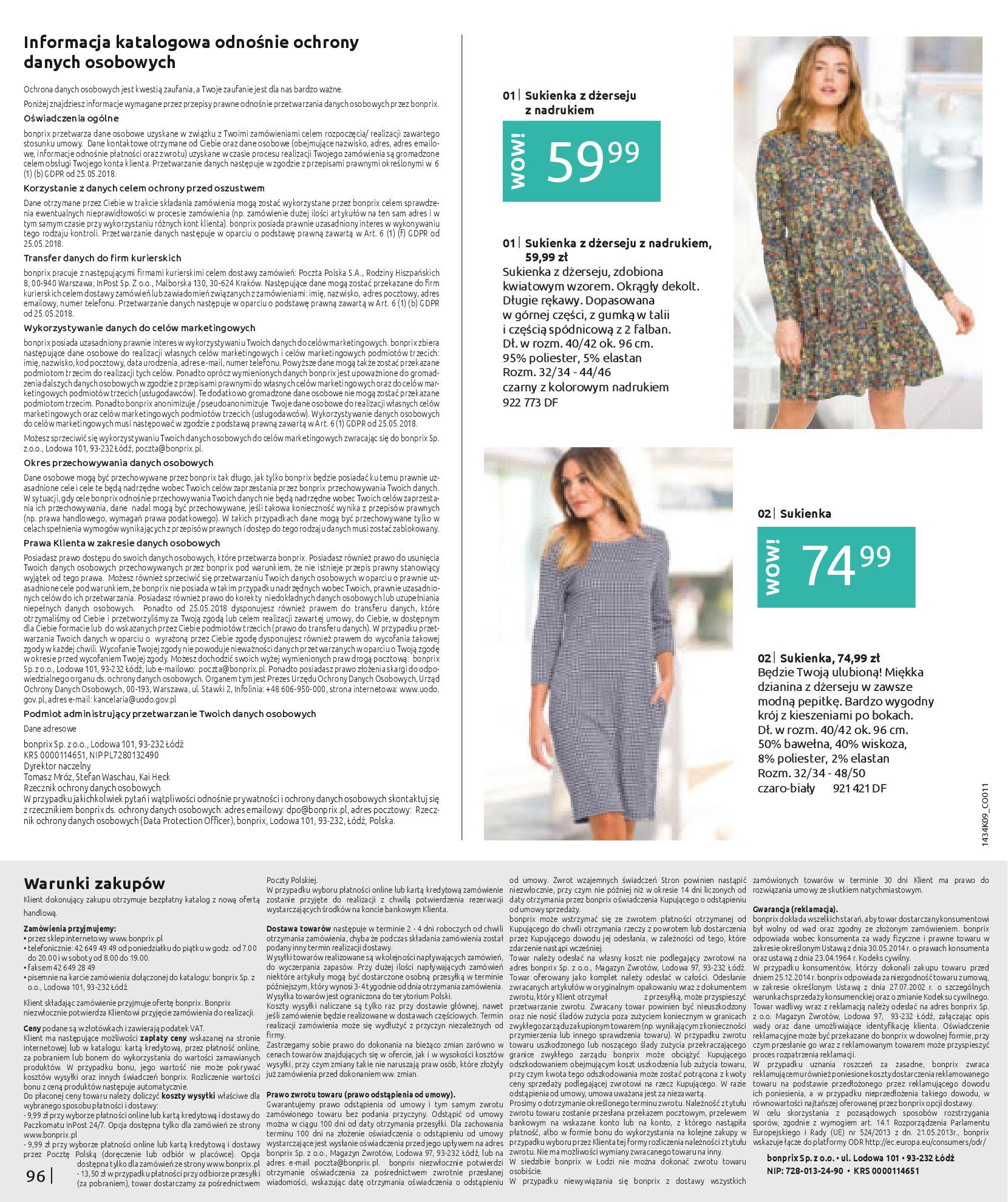 Gazetka Bonprix: Katalog Bonprix - Wolne chwile w wielkim stylu 2021-09-09 page-98