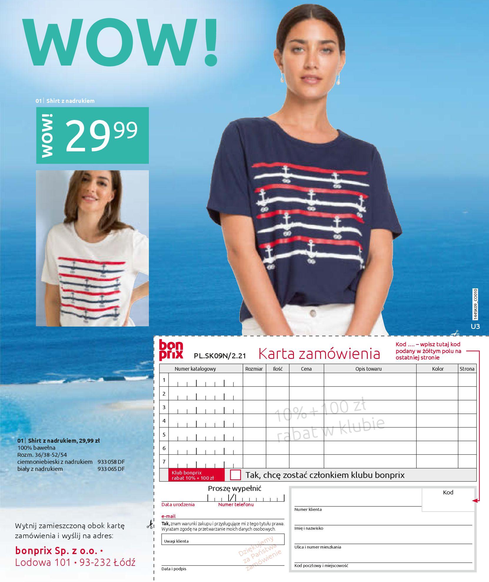 Gazetka Bonprix: Katalog Bonprix - Wolne chwile w wielkim stylu 2021-09-09 page-99