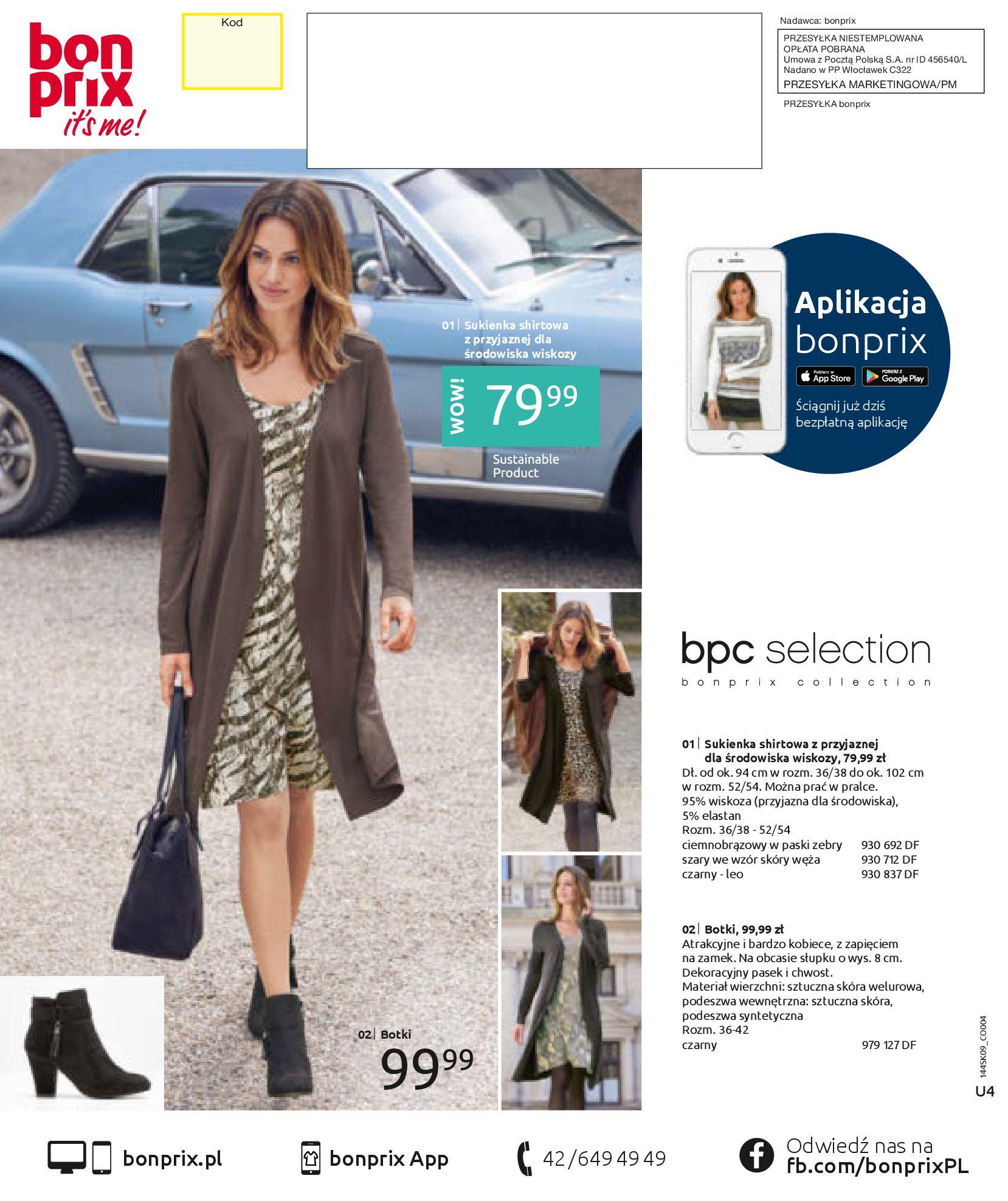 Gazetka Bonprix: Katalog Bonprix - Wolne chwile w wielkim stylu 2021-09-09 page-100