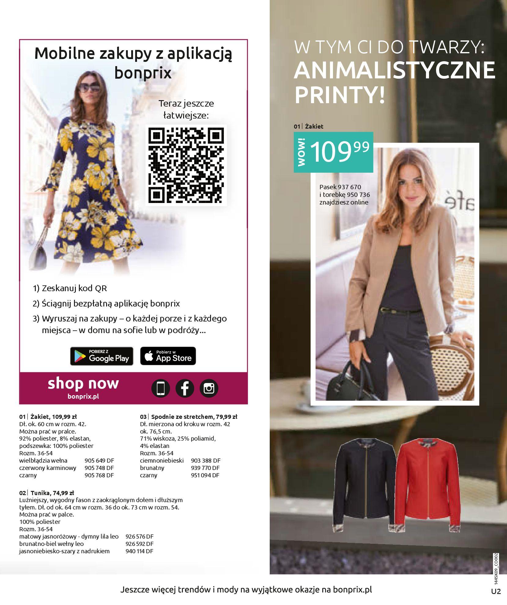 Gazetka Bonprix: Katalog Bonprix - Wolne chwile w wielkim stylu 2021-09-09 page-2