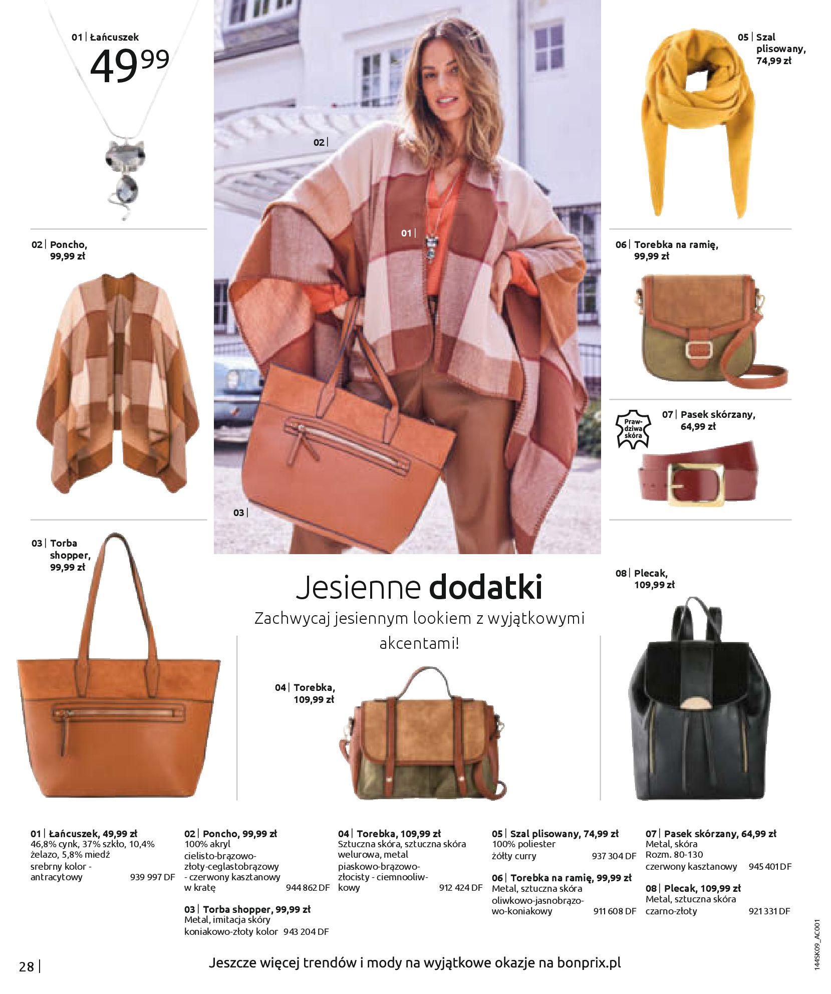 Gazetka Bonprix: Katalog Bonprix - Wolne chwile w wielkim stylu 2021-09-09 page-30