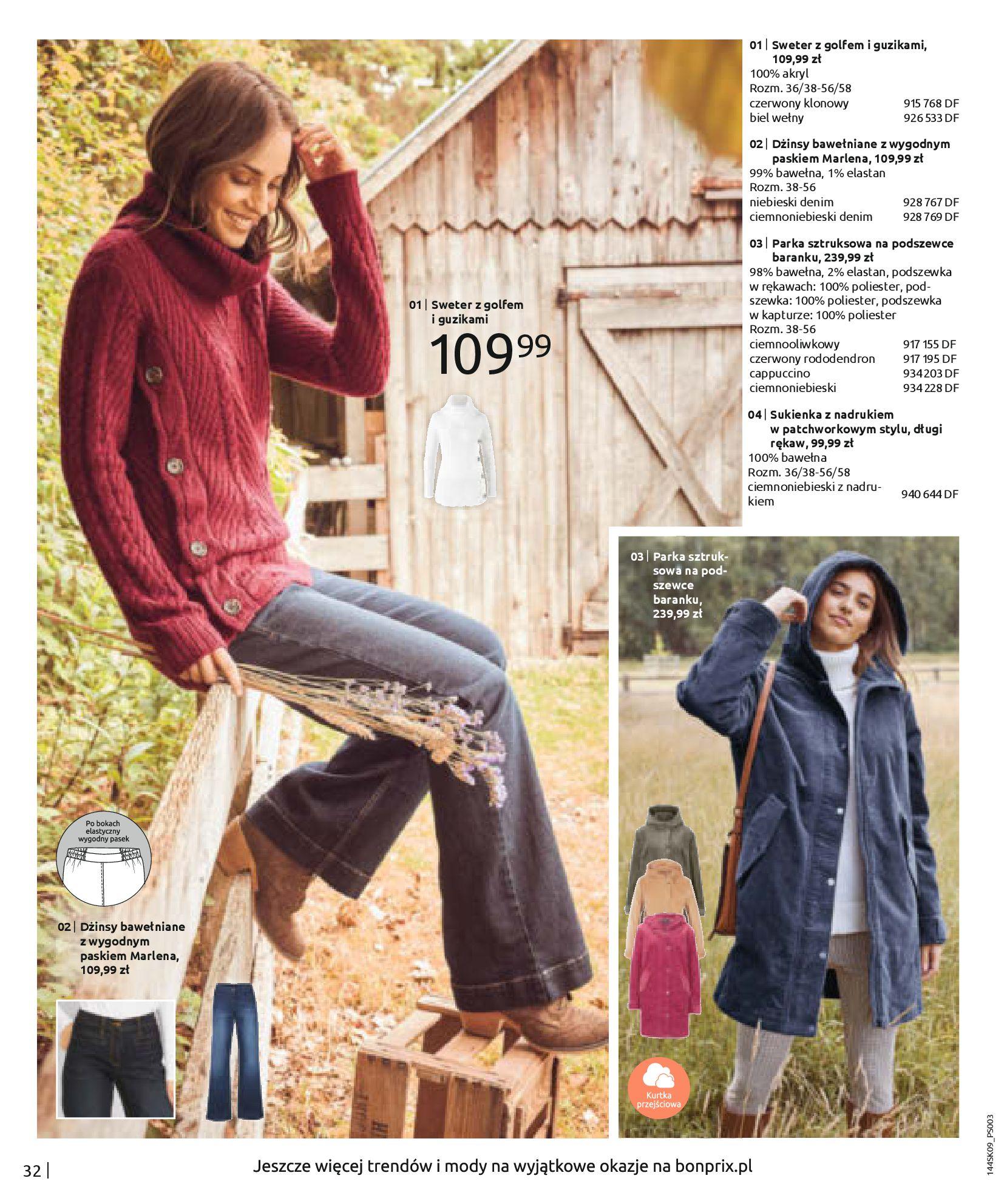 Gazetka Bonprix: Katalog Bonprix - Wolne chwile w wielkim stylu 2021-09-09 page-34