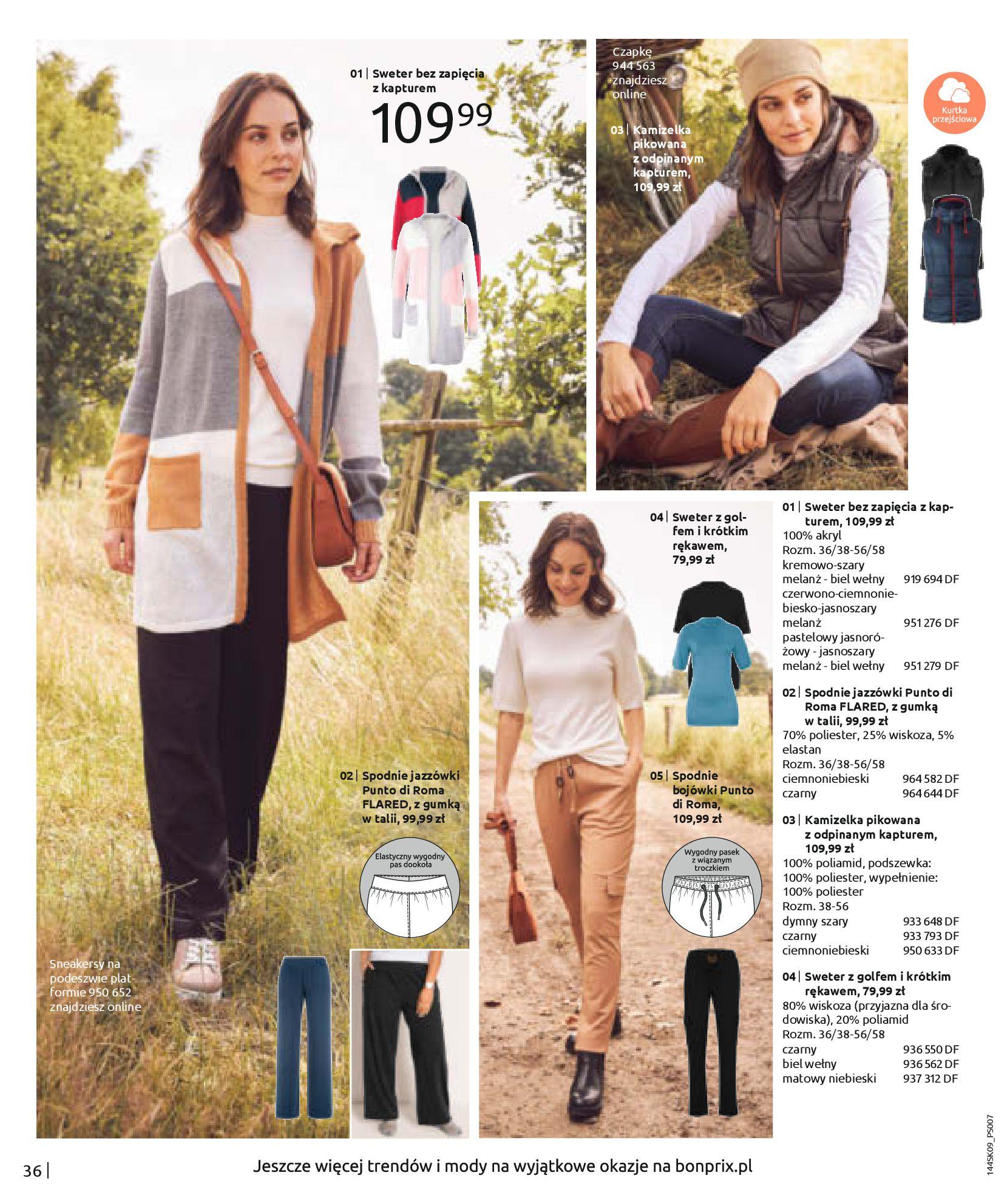 Gazetka Bonprix: Katalog Bonprix - Wolne chwile w wielkim stylu 2021-09-09 page-38