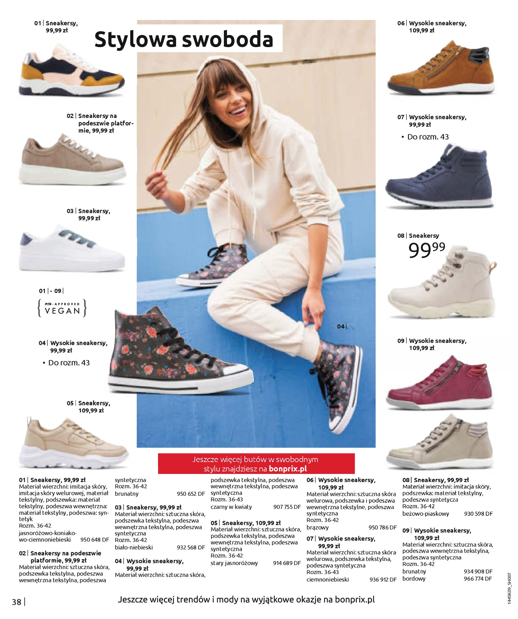 Gazetka Bonprix: Katalog Bonprix - Wolne chwile w wielkim stylu 2021-09-09 page-40