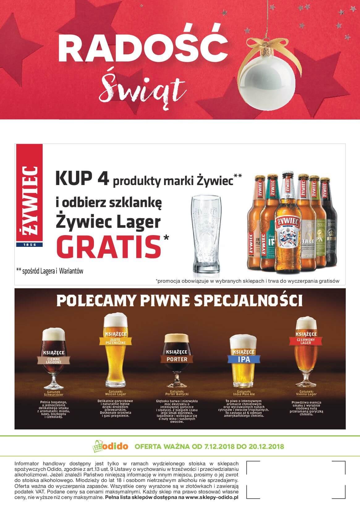 Gazetka Odido - RADOŚĆ Świąt-05.12.2018-20.12.2018-page-